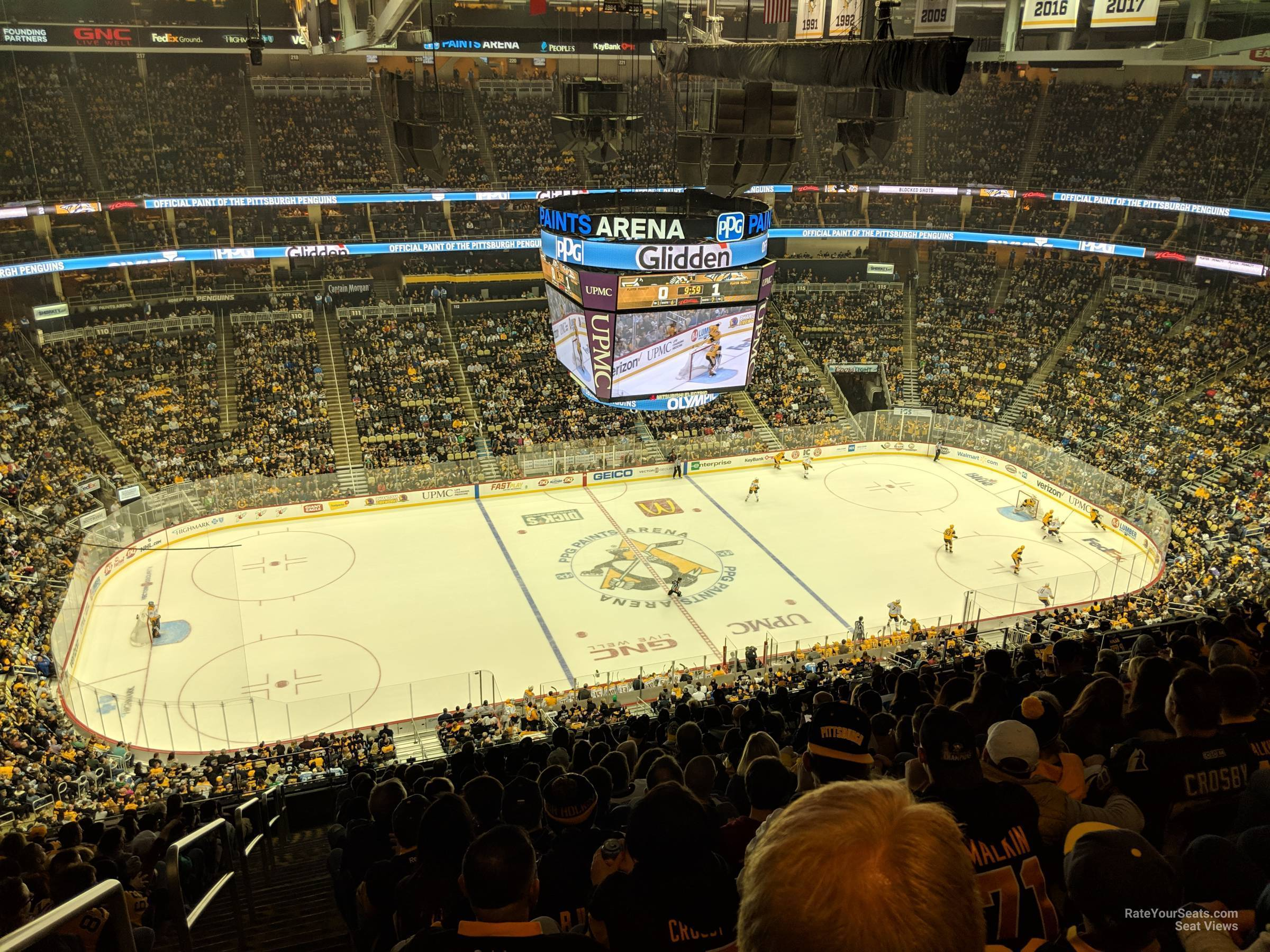 Section 204 seat view