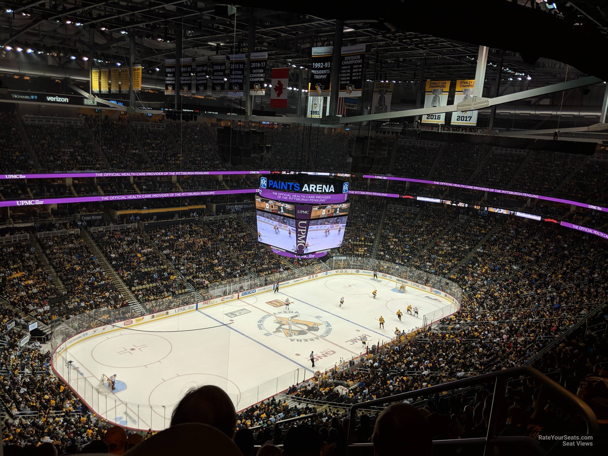 Section 207 seat view