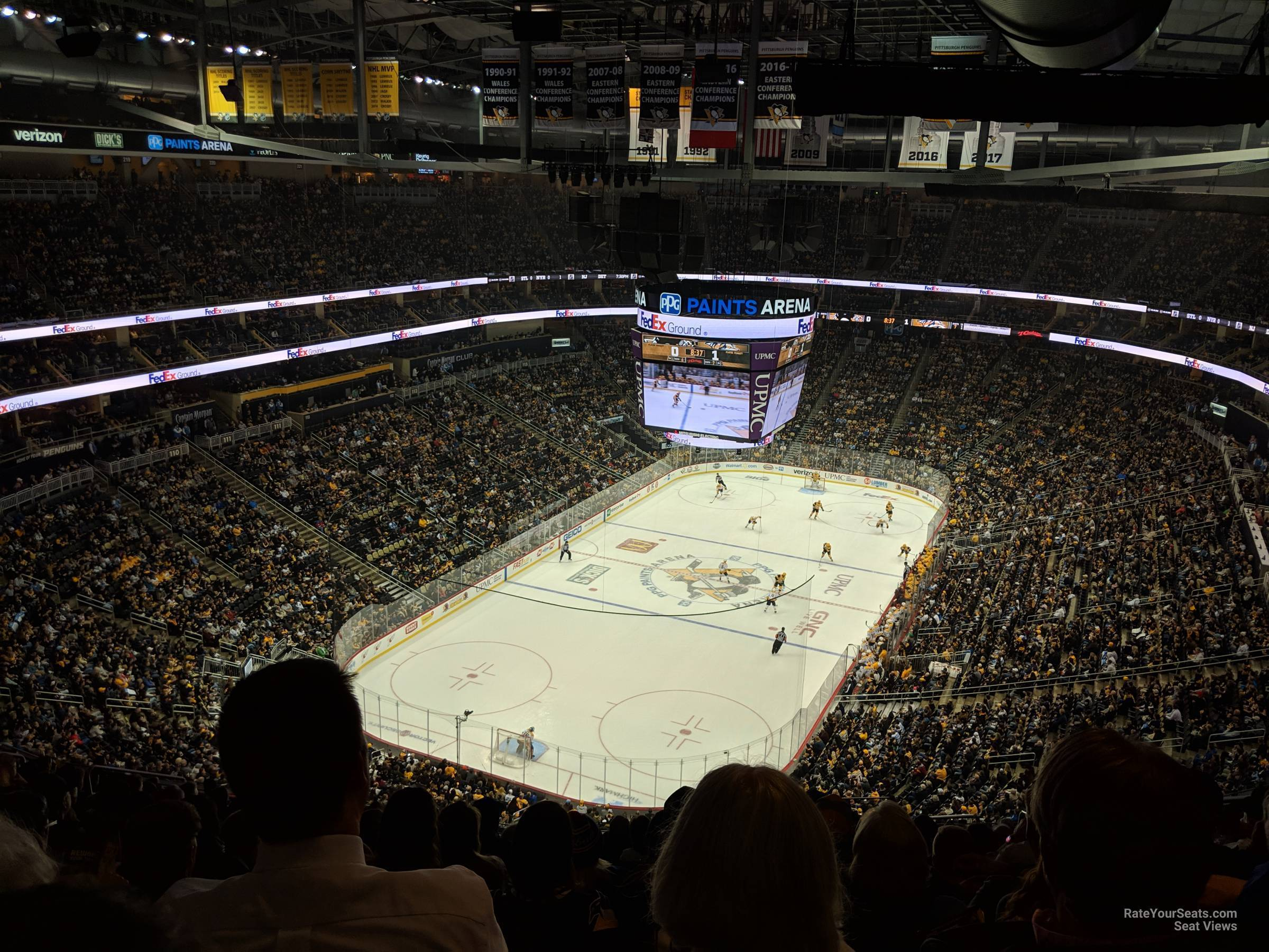 Section 209 seat view