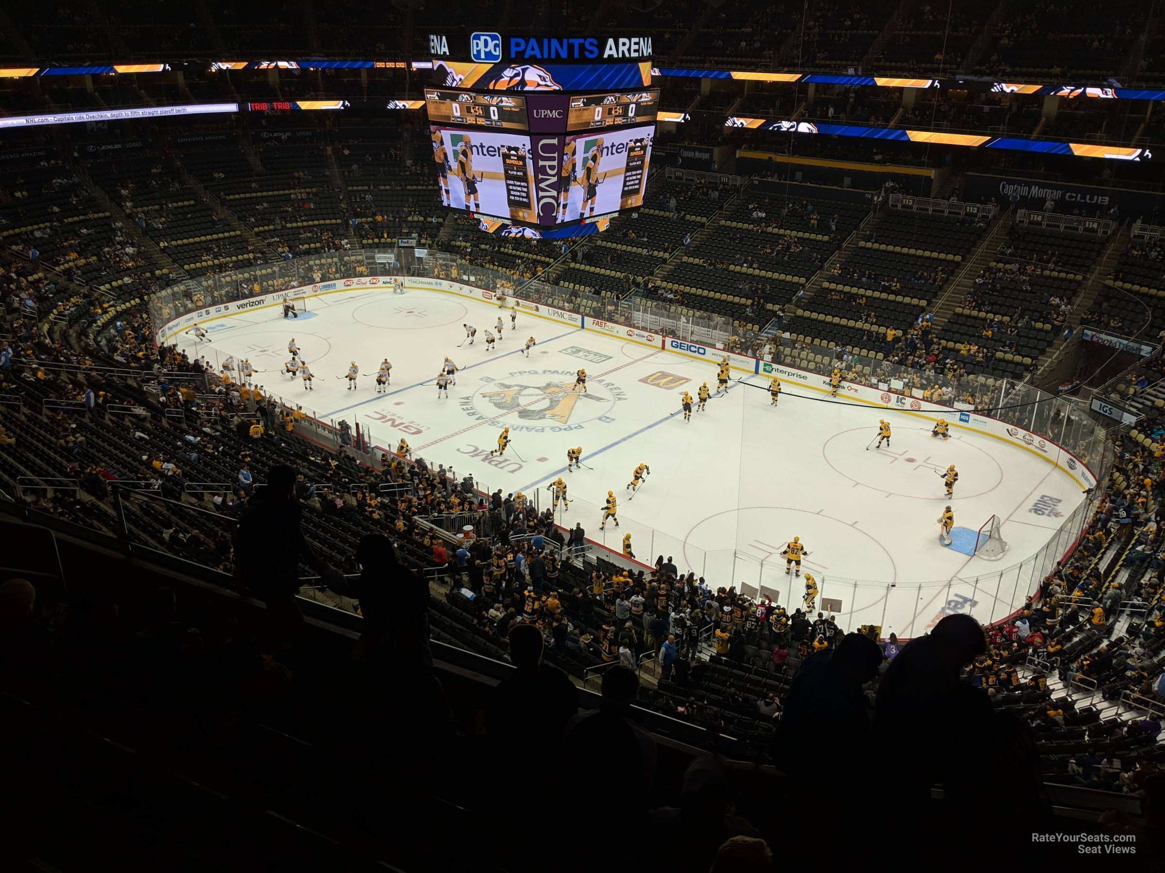 Ppg Paints Arena Section 233 Pittsburgh Penguins