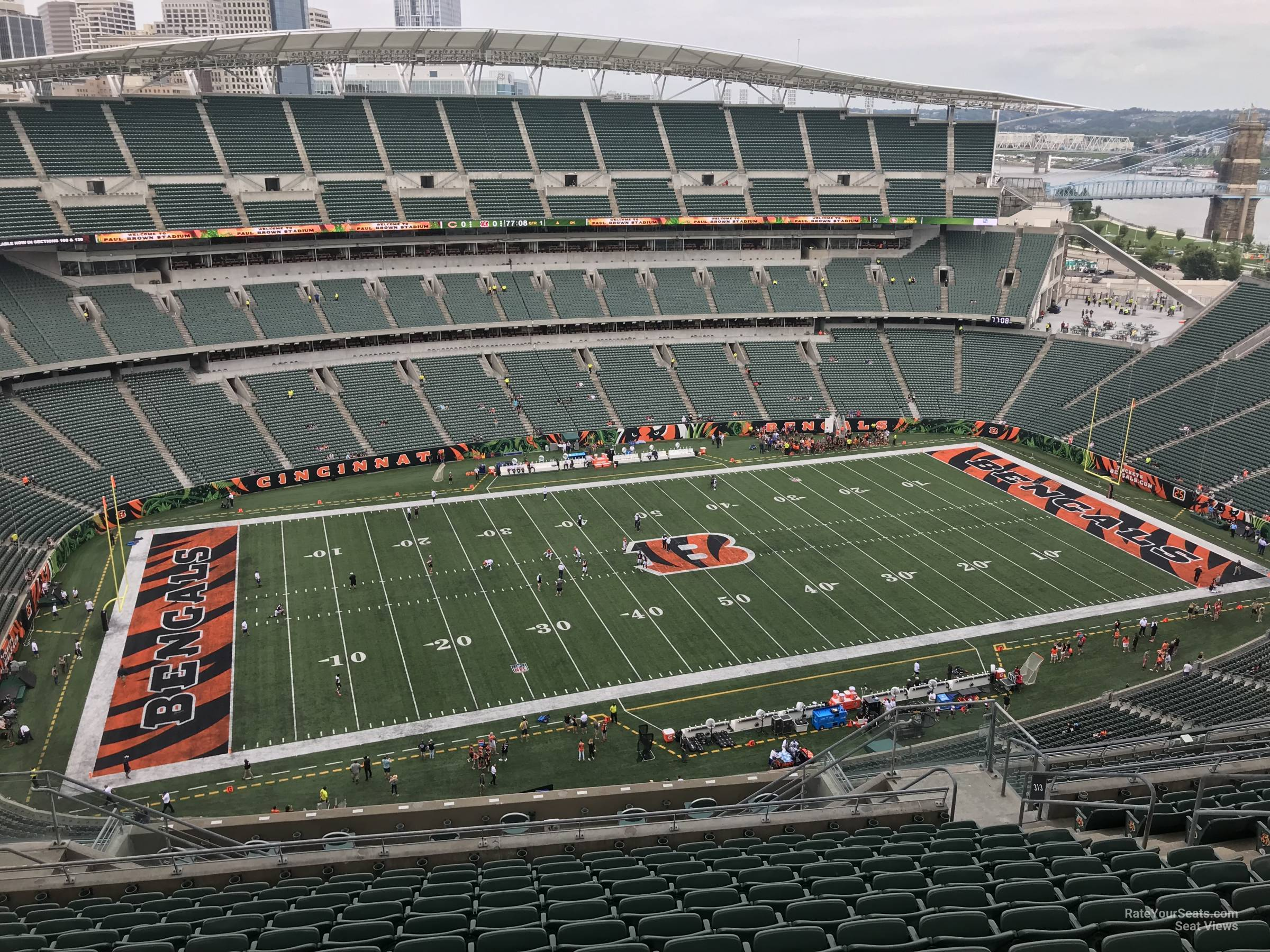 Section 313 seat view