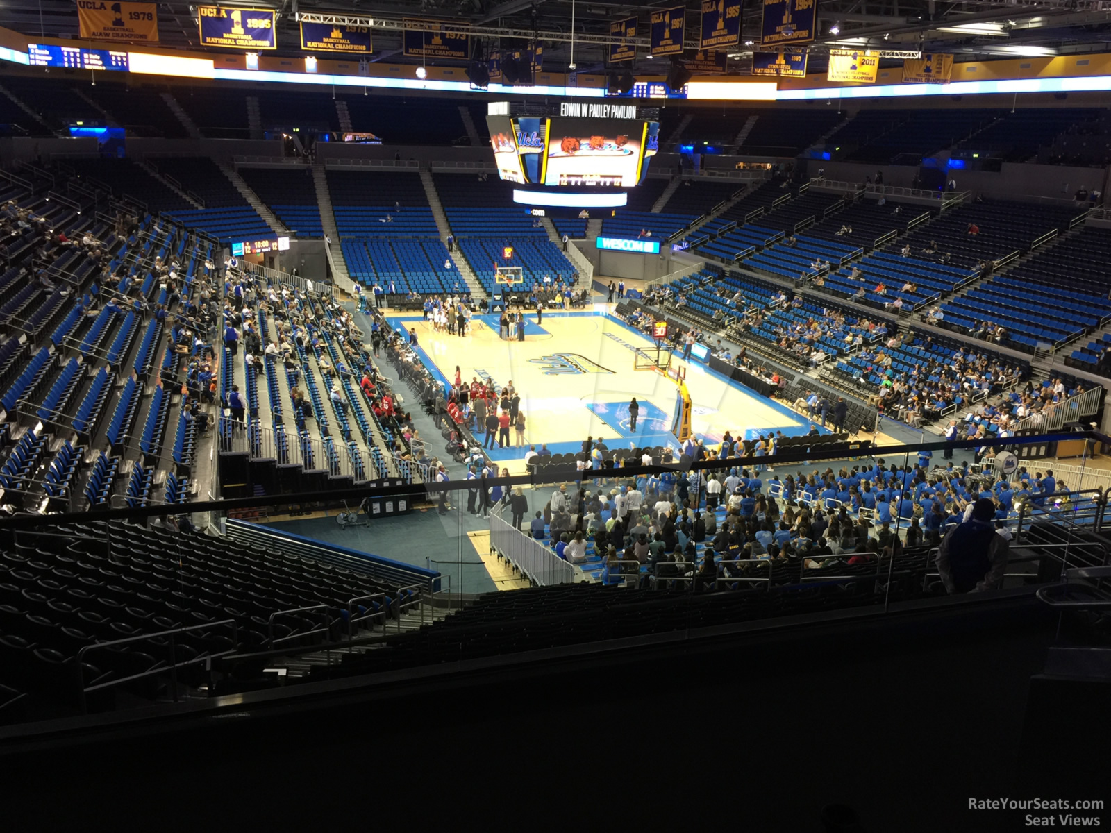 Seat View for Pauley Pavilion Section 223B, Row 6