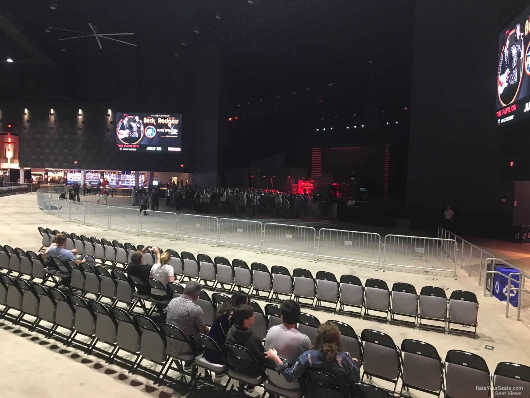 Concert Seat View For The Pavilion At Toyota Music Factory Section 200