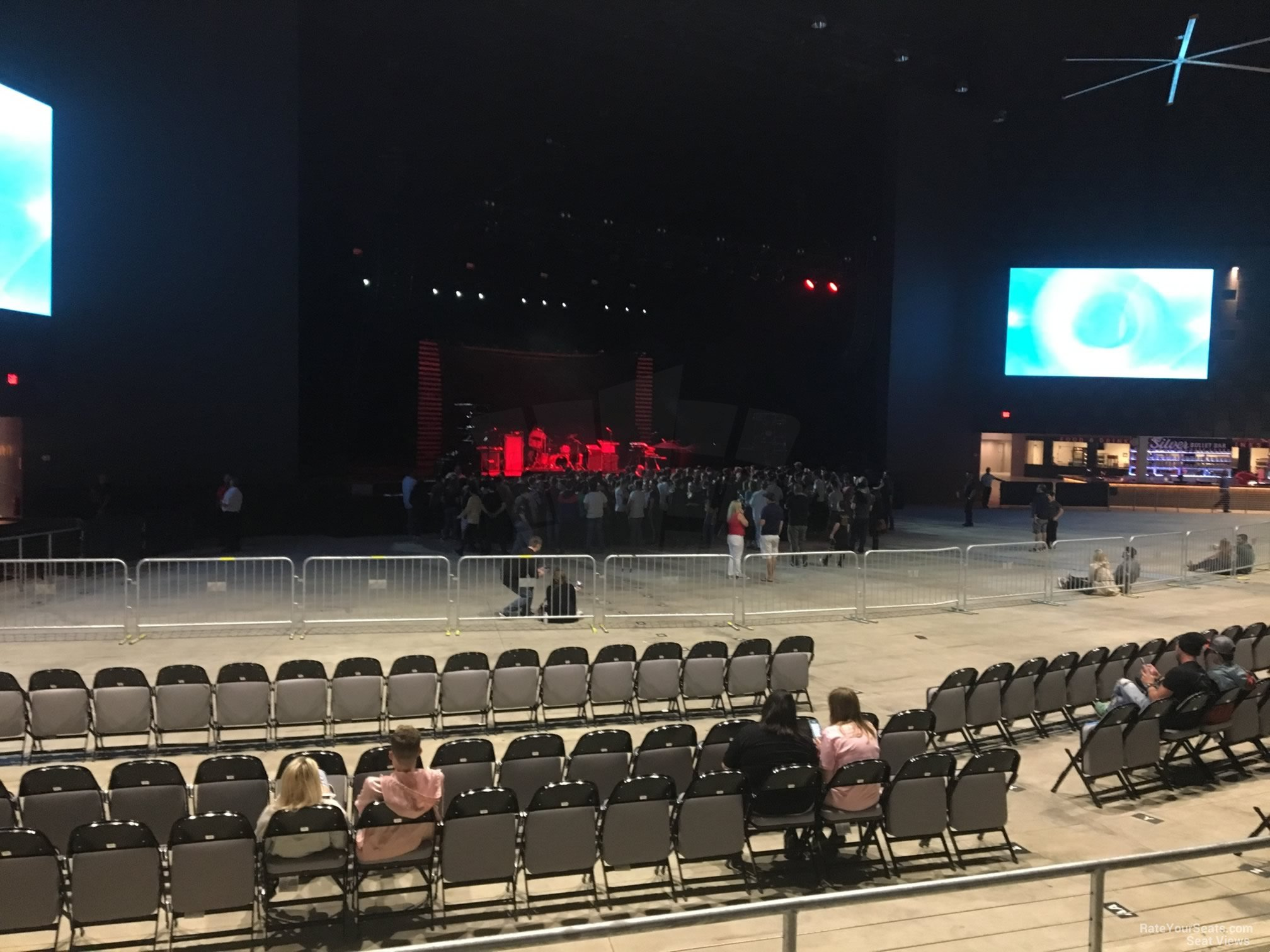 Concert Seat View For The Pavilion At Toyota Music Factory Section 202
