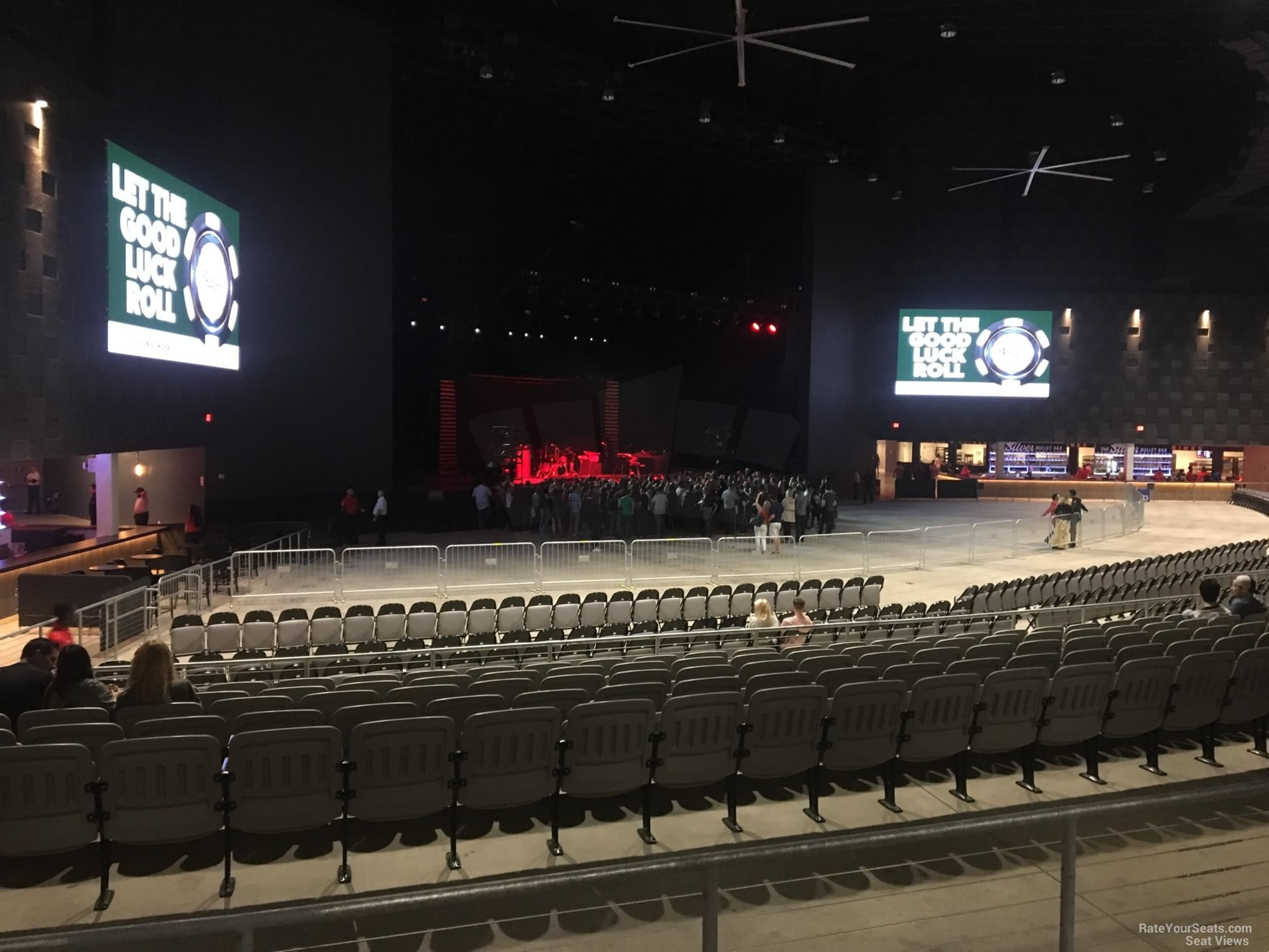 Concert Seat View For The Pavilion At Toyota Music Factory Section 303