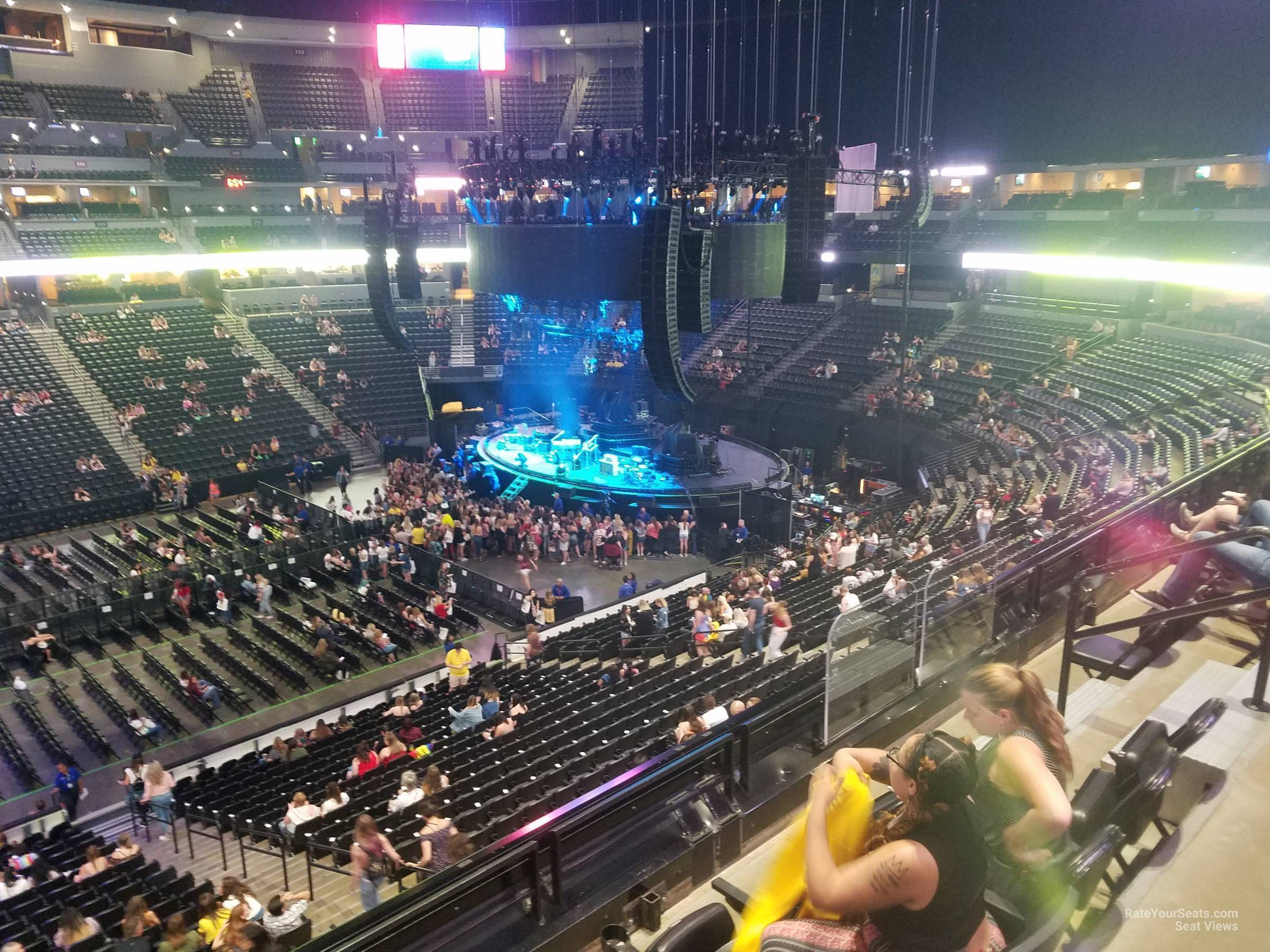 Pepsi Center: Pepsi Center Section 202 Concert Seating