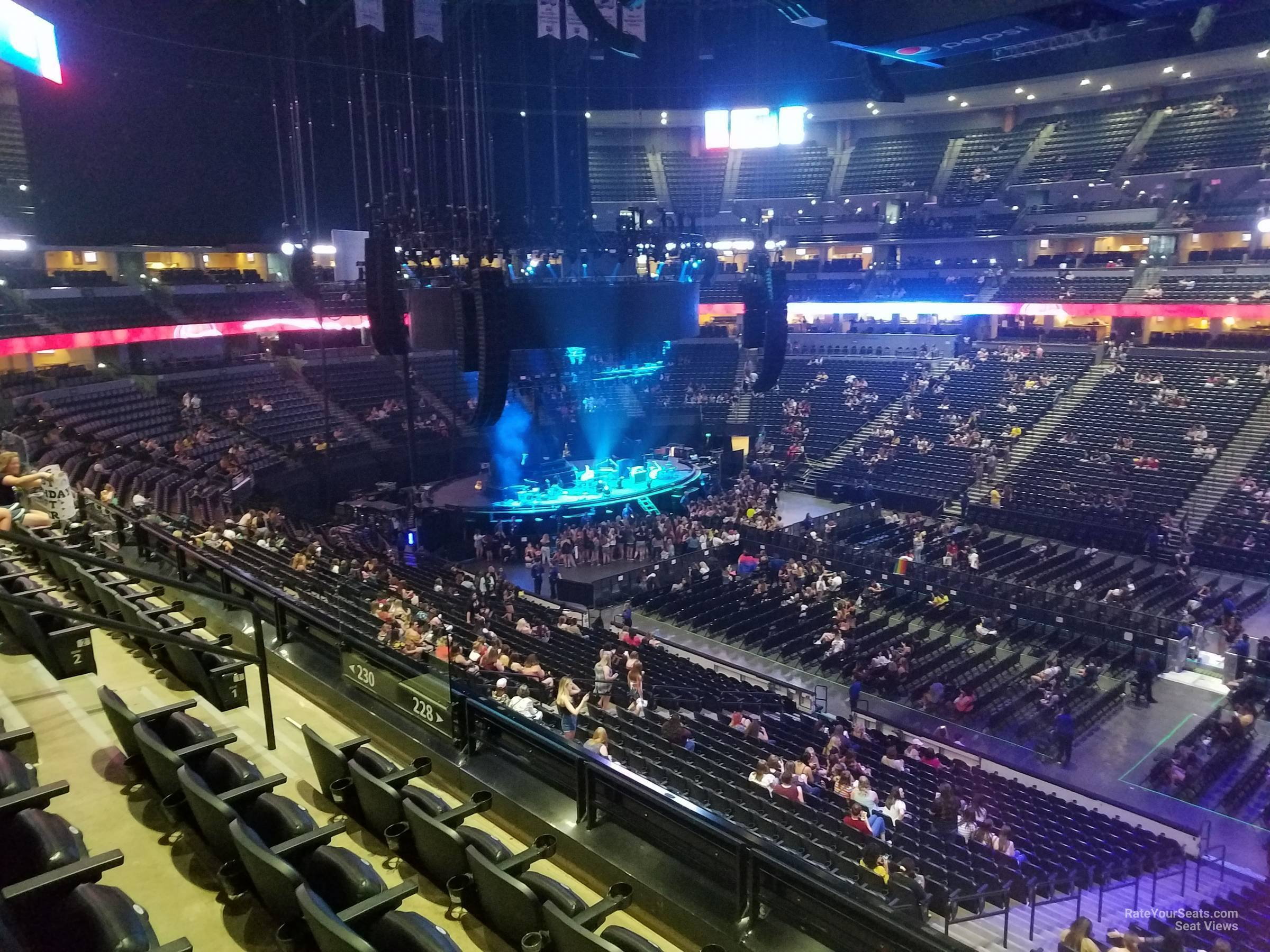 Pepsi Center: Pepsi Center Section 228 Concert Seating
