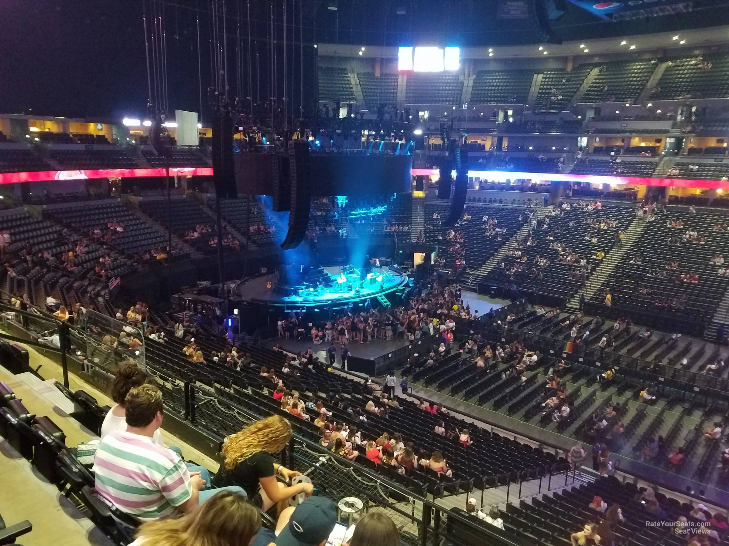 Pepsi Center: Pepsi Center Section 230 Concert Seating