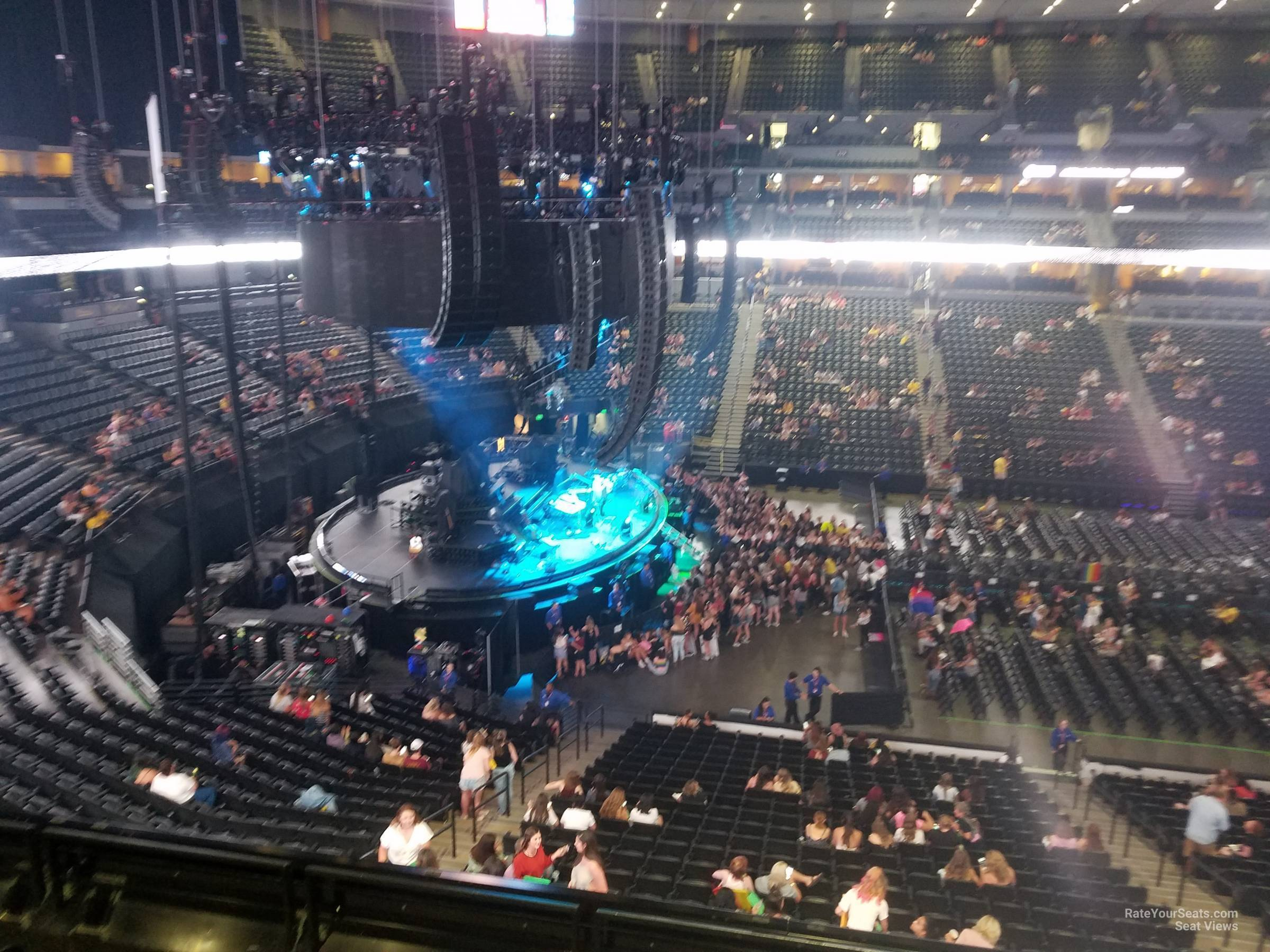 Pepsi Center: Pepsi Center Section 234 Concert Seating