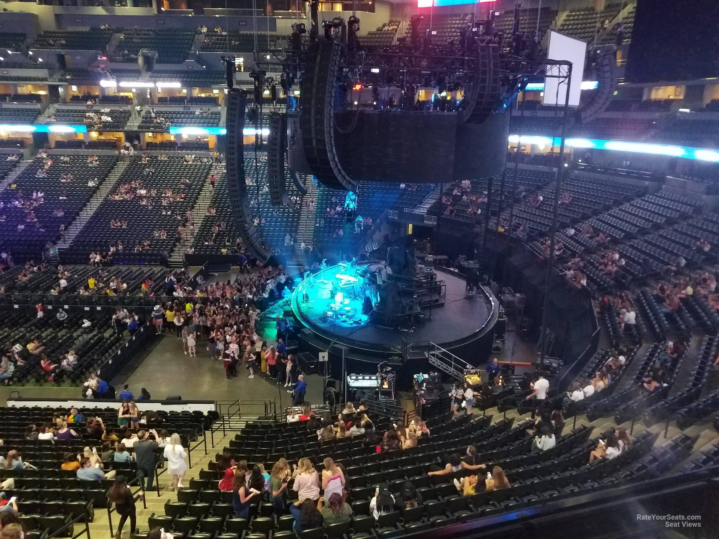Pepsi Center: Pepsi Center Section 256 Concert Seating