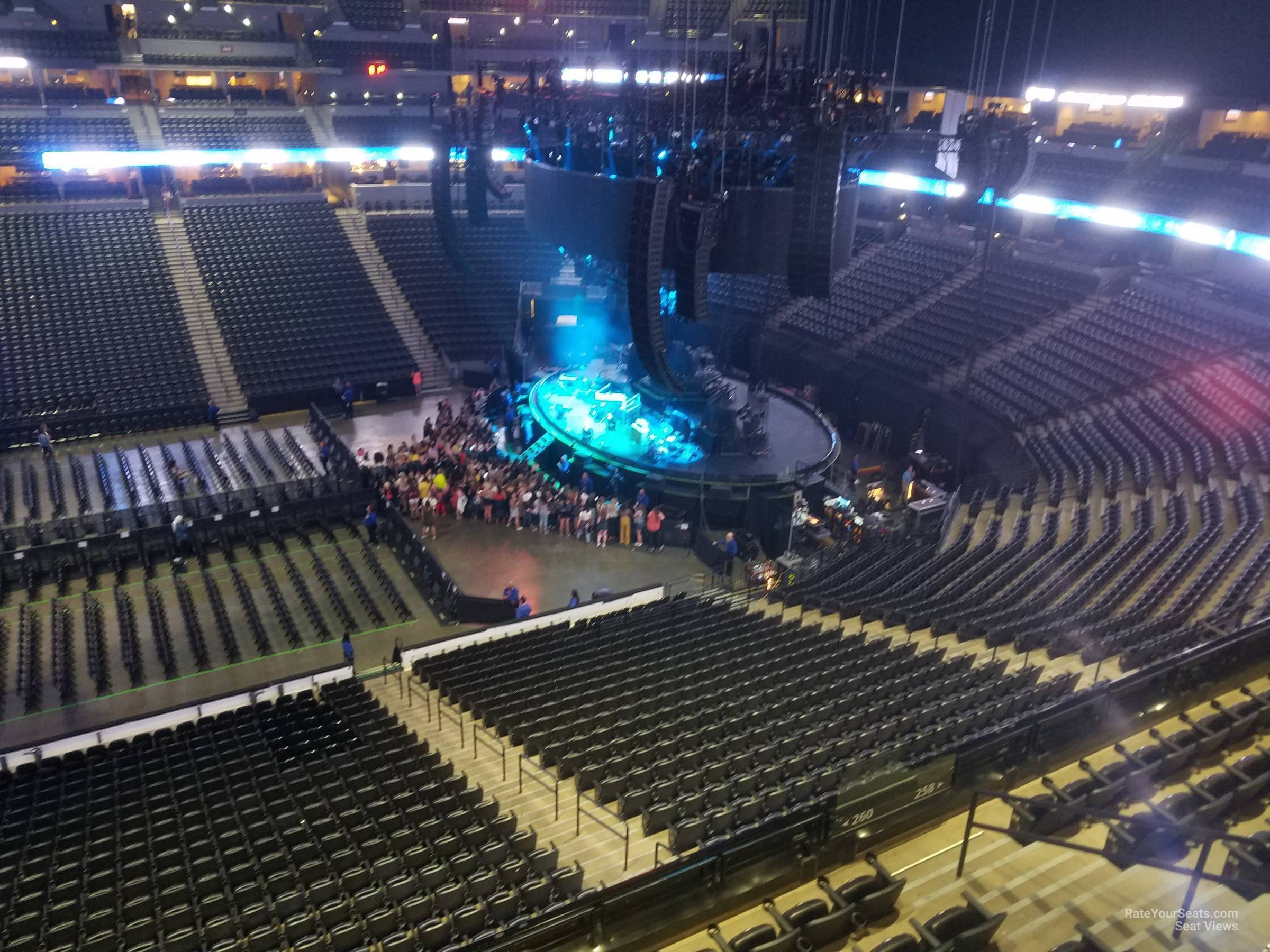 Pepsi Center: Pepsi Center Section 301 Concert Seating