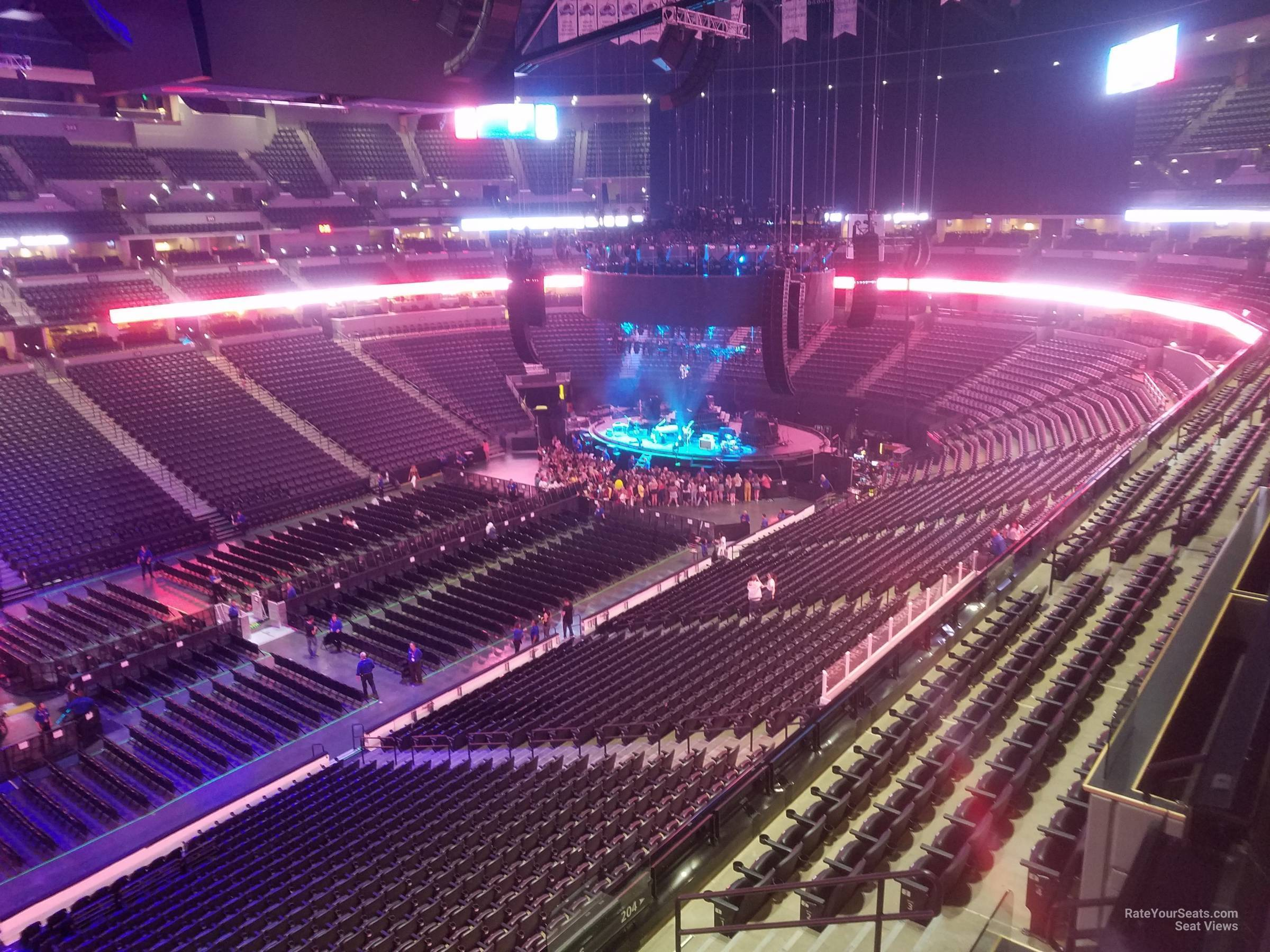 Pepsi Center: Pepsi Center Section 309 Concert Seating