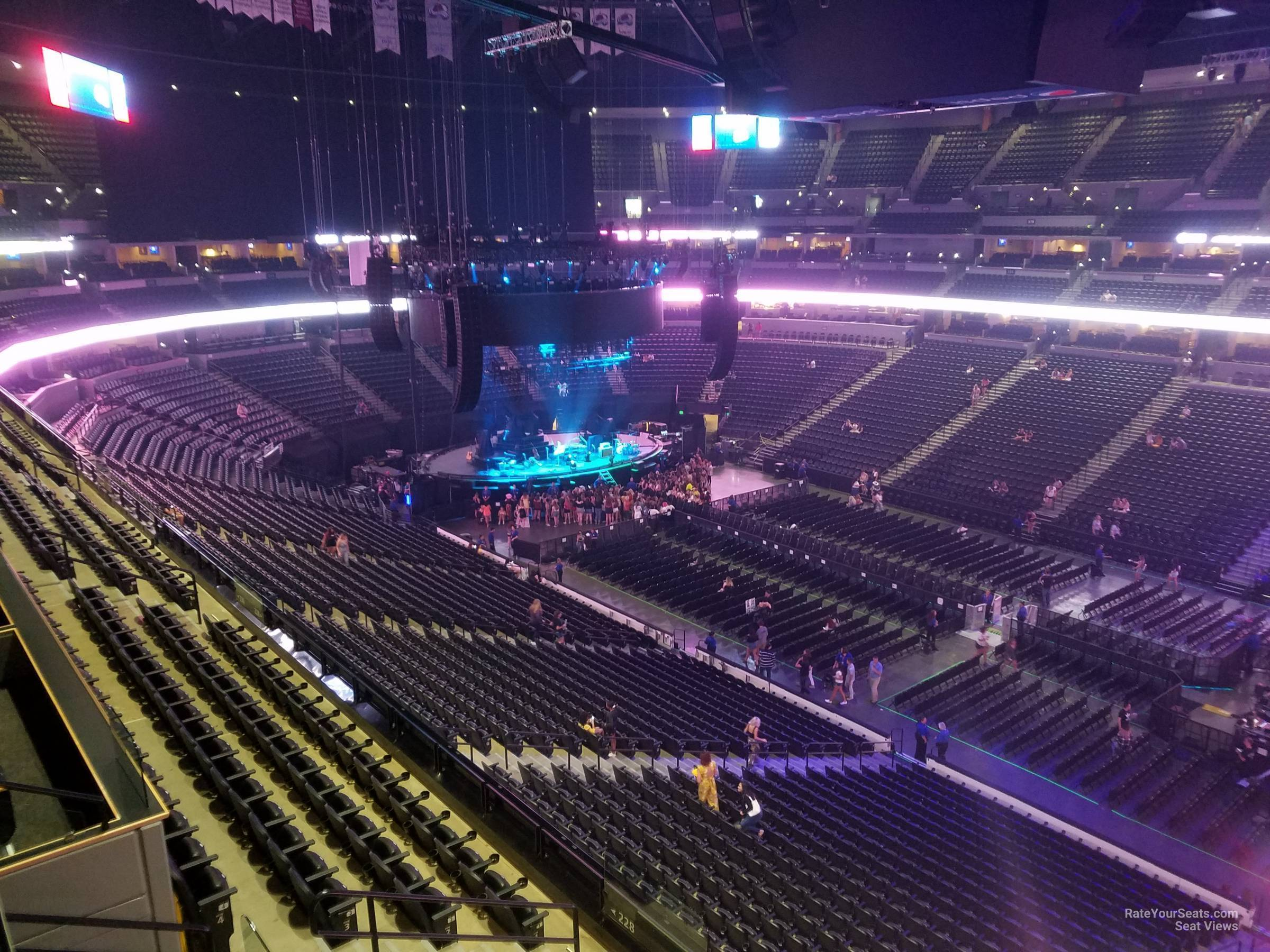 Pepsi Center: Pepsi Center Section 335 Concert Seating