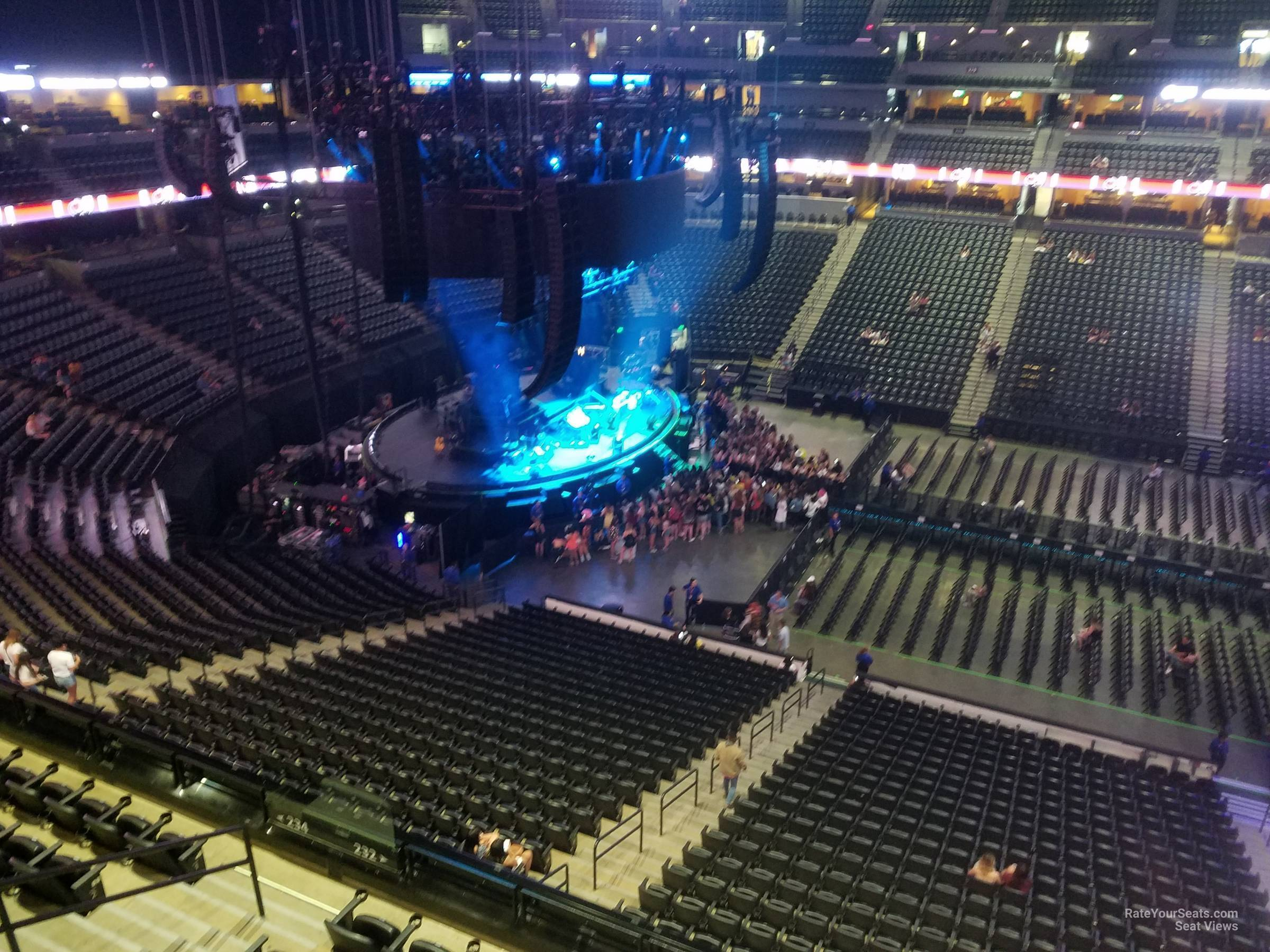 Pepsi Center: Pepsi Center Section 343 Concert Seating