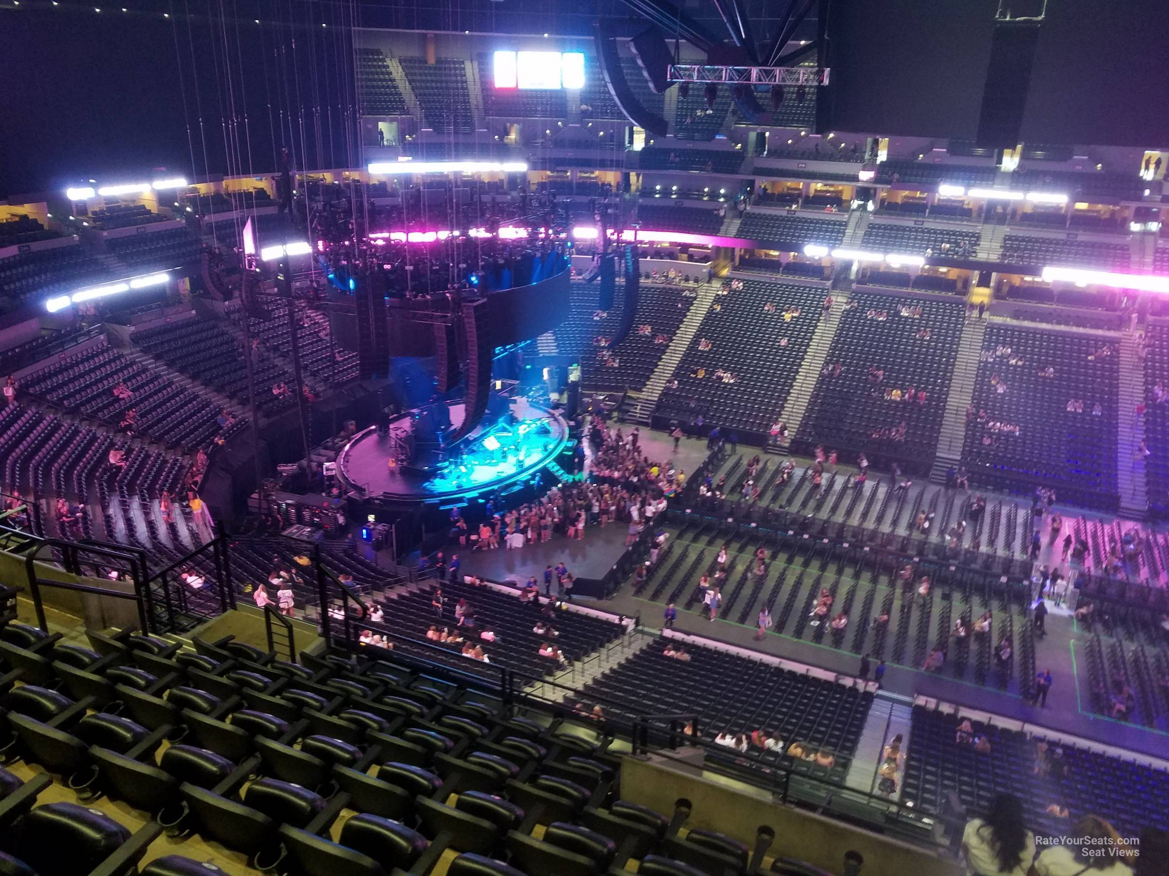 Pepsi Center: Pepsi Center Section 344 Concert Seating