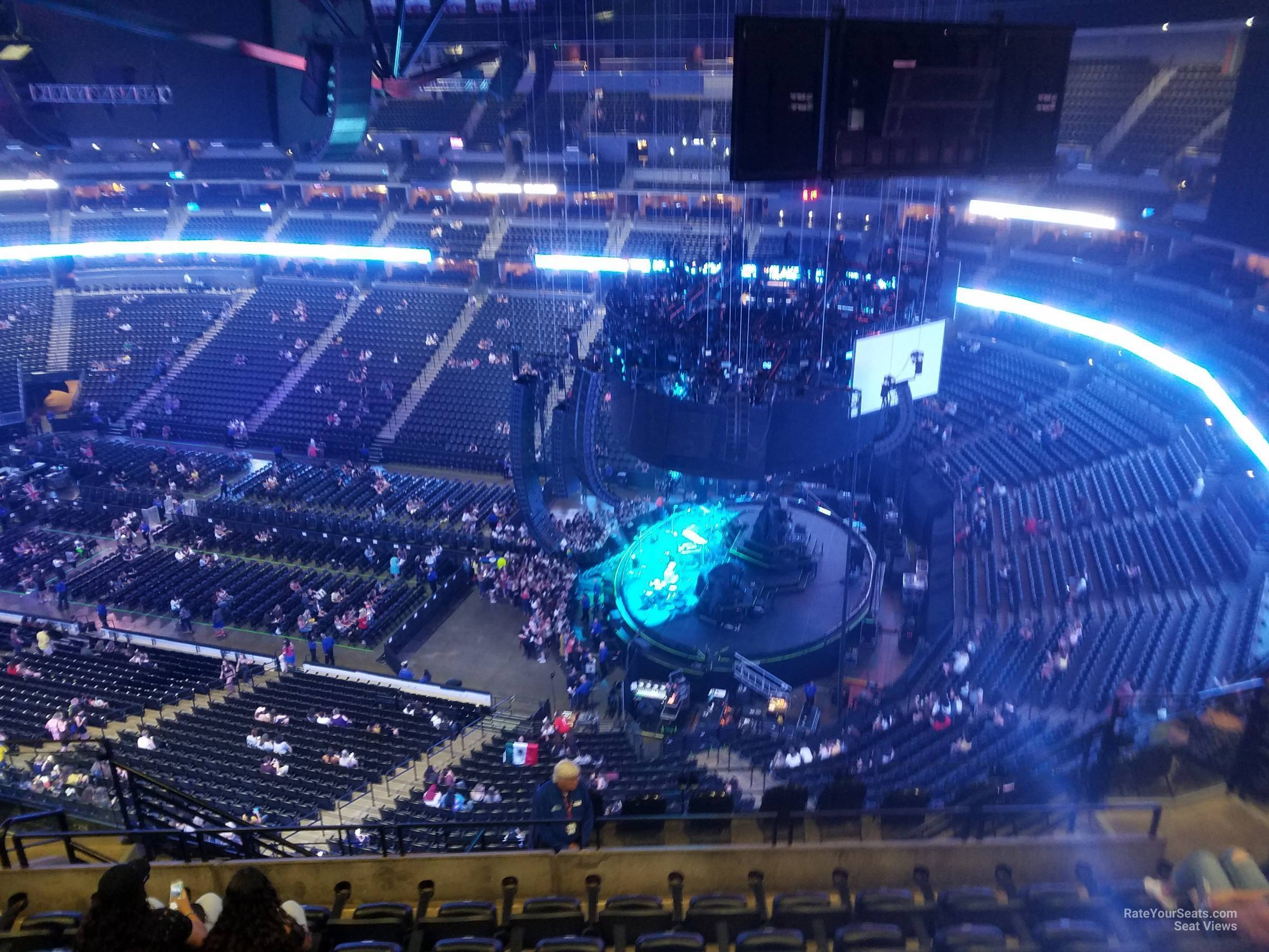 Pepsi Center: Pepsi Center Section 374 Concert Seating