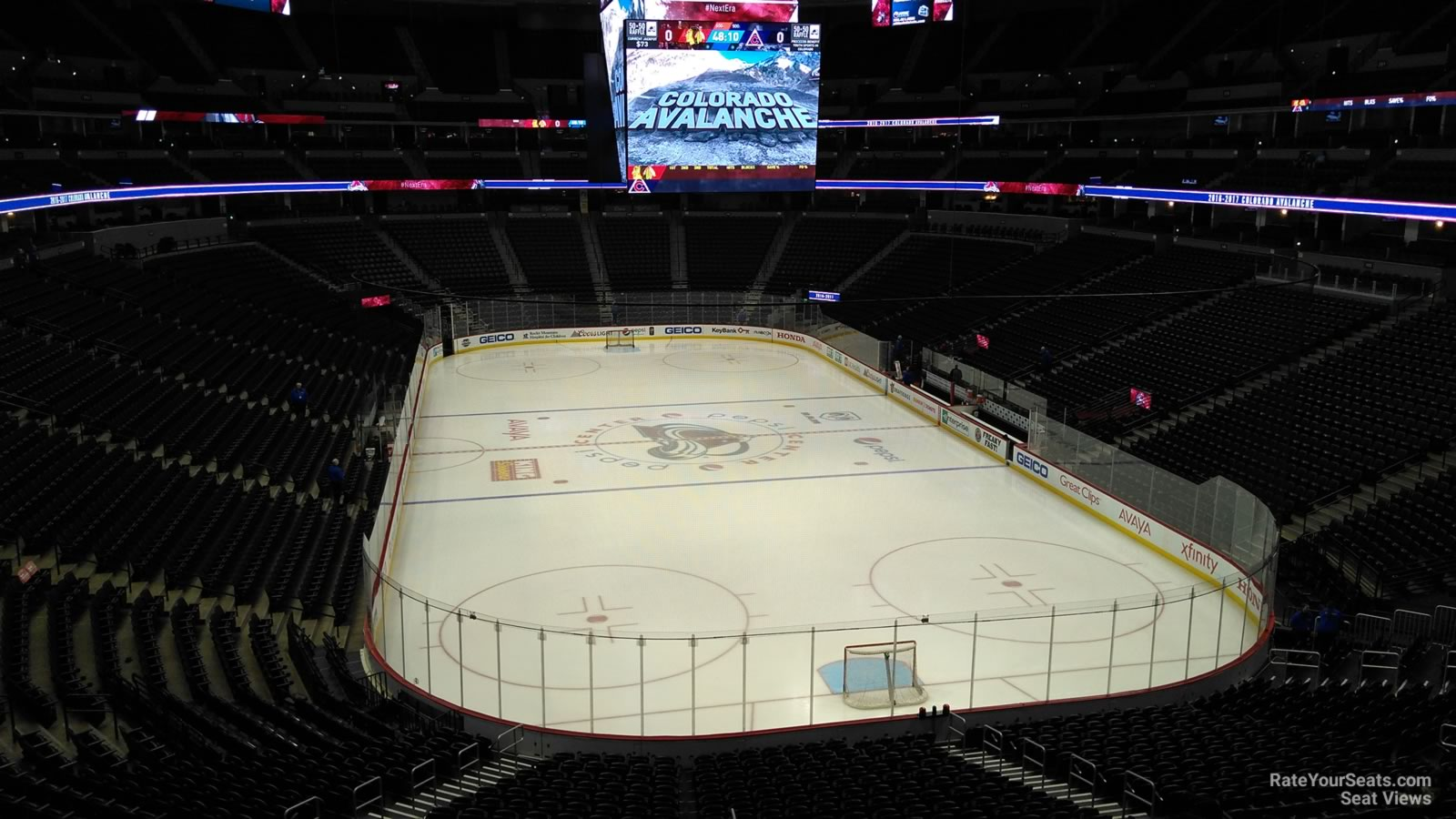 Section 218 seat view