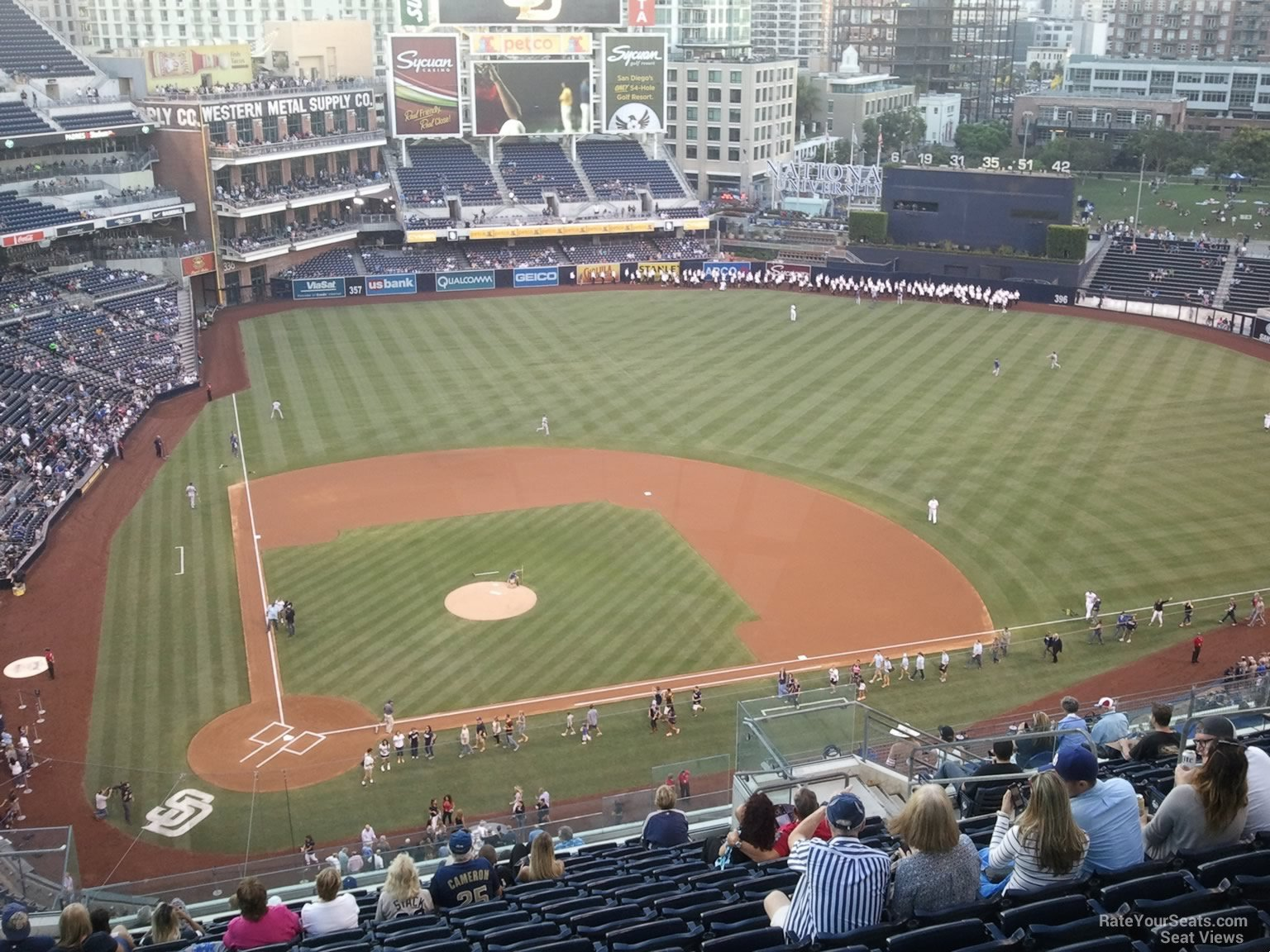 Seat View For Petco Park Section 307