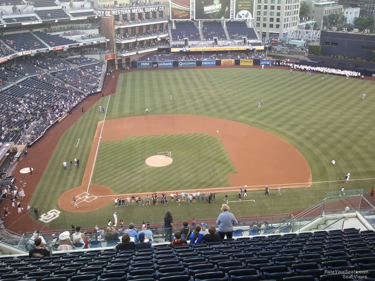 Seat View For Petco Park Section 309