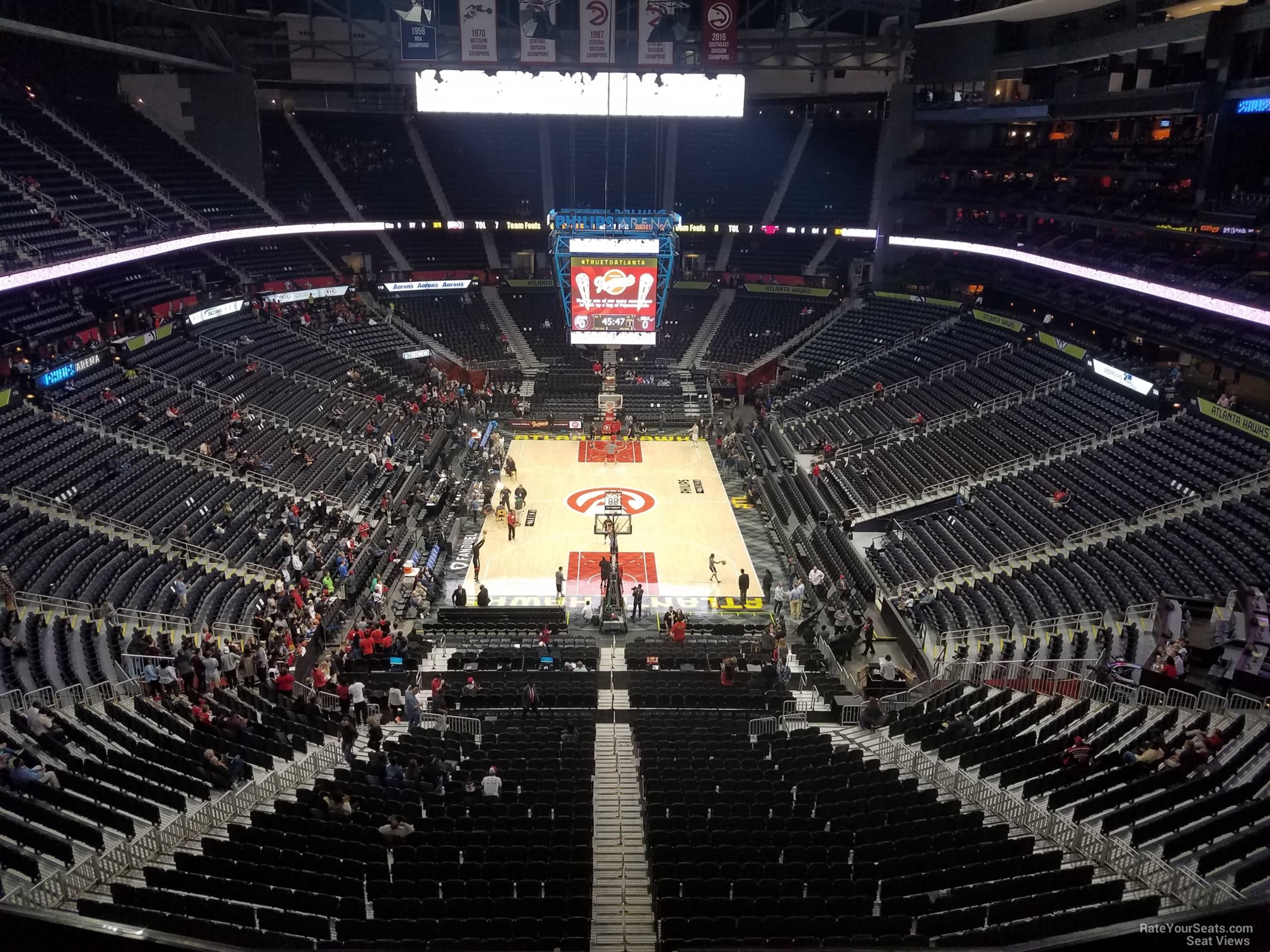 Seat View for Philips Arena Section 303