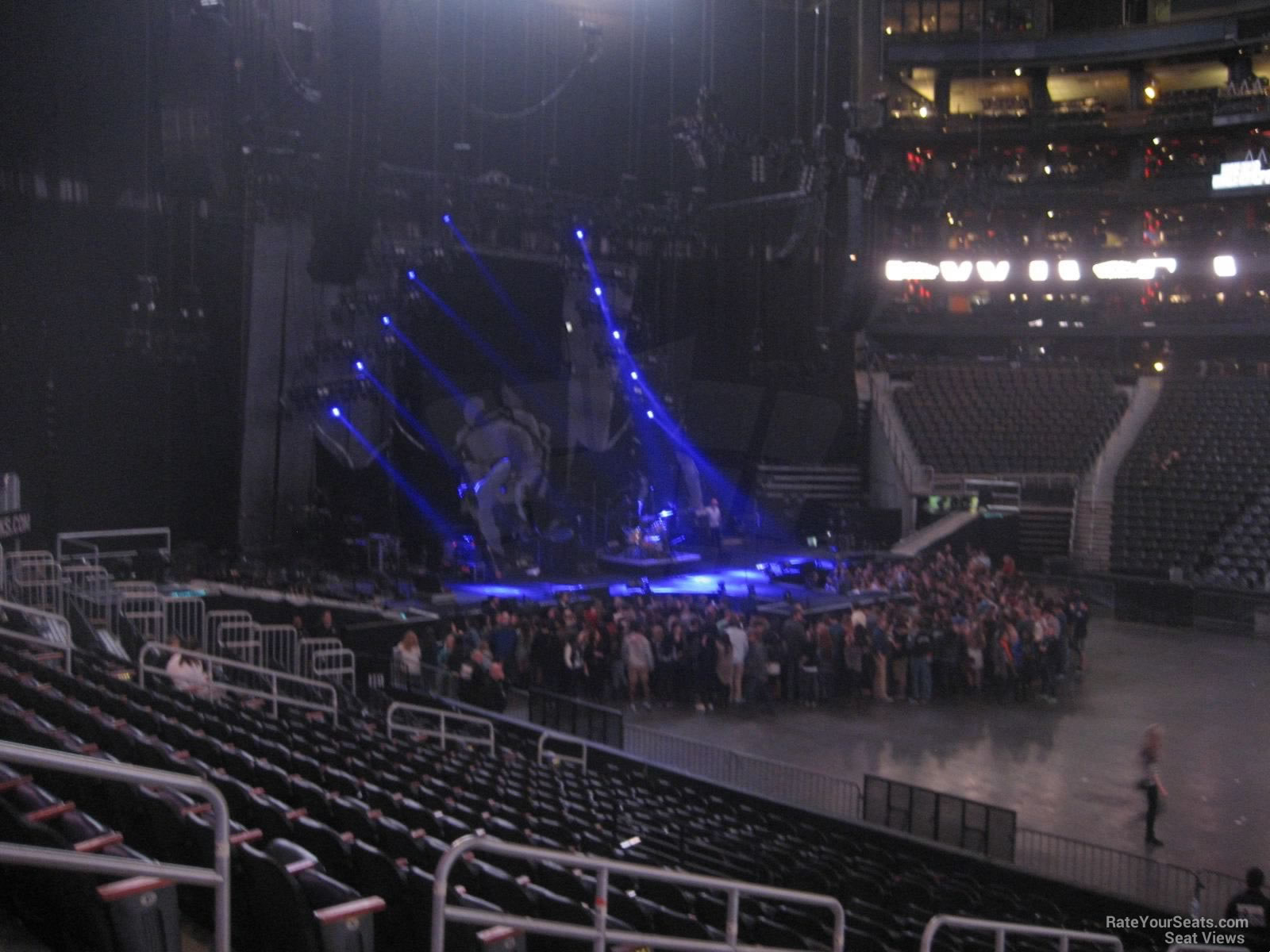 State Farm Arena Section 119 Concert Seating Rateyourseatscom