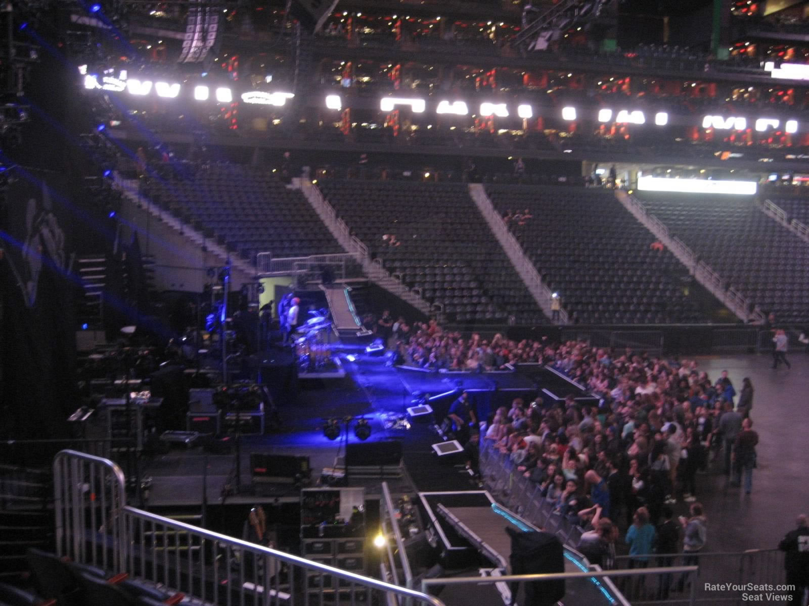 Philips arena section 118 concert seating rateyourseats com