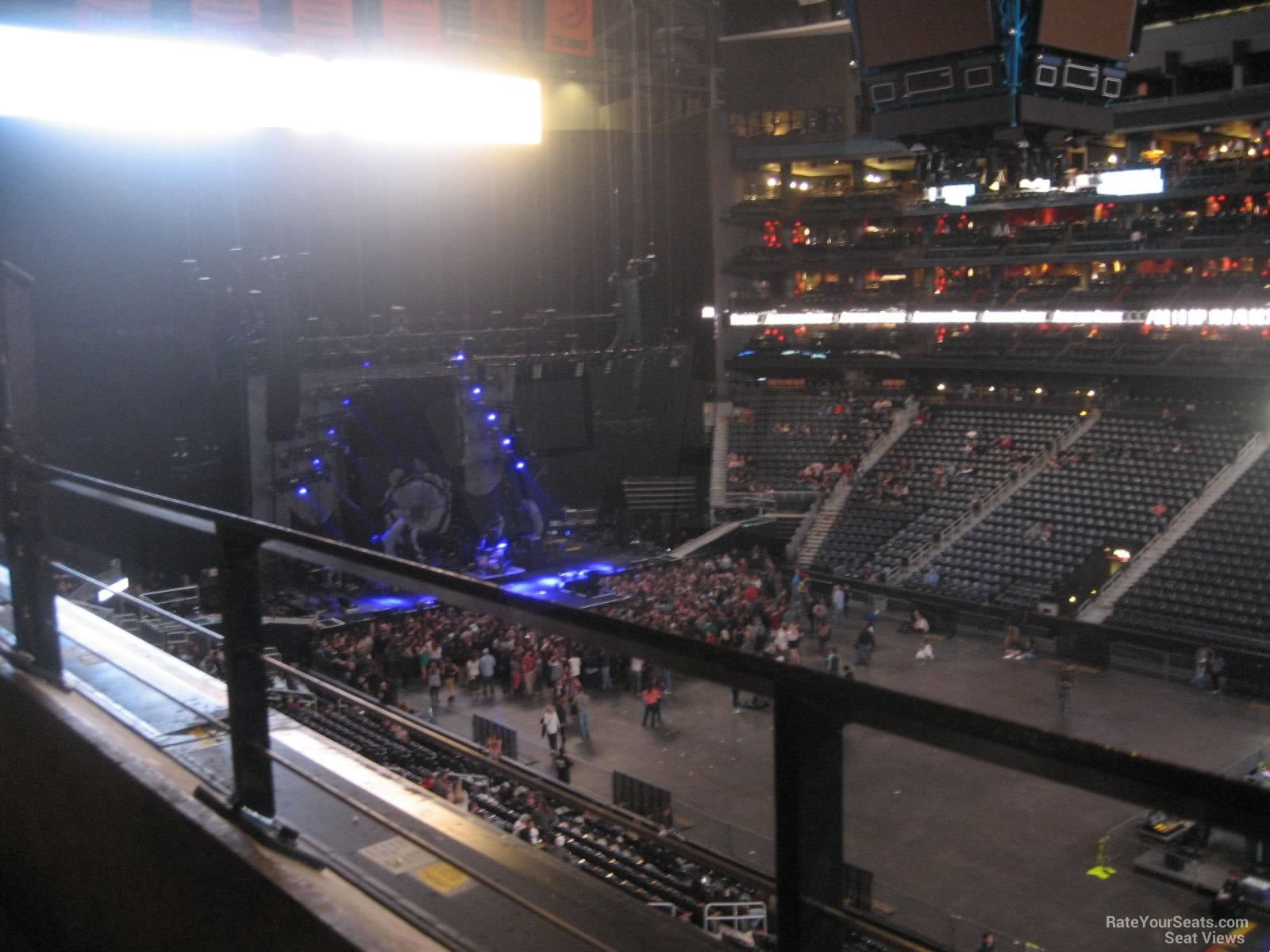 Concert Seat View for Philips Arena Section 308
