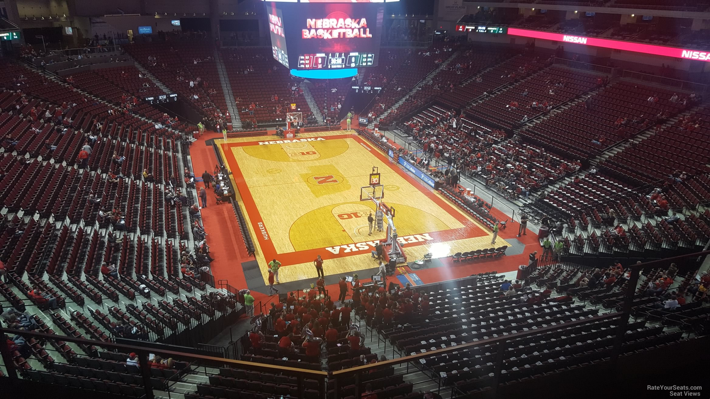 Seat View for Pinnacle Bank Arena Section 213, Row 3