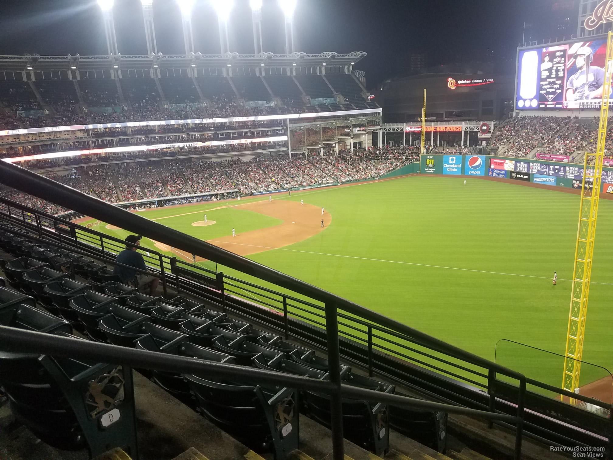 Section 422 at Progressive Field - RateYourSeats.com