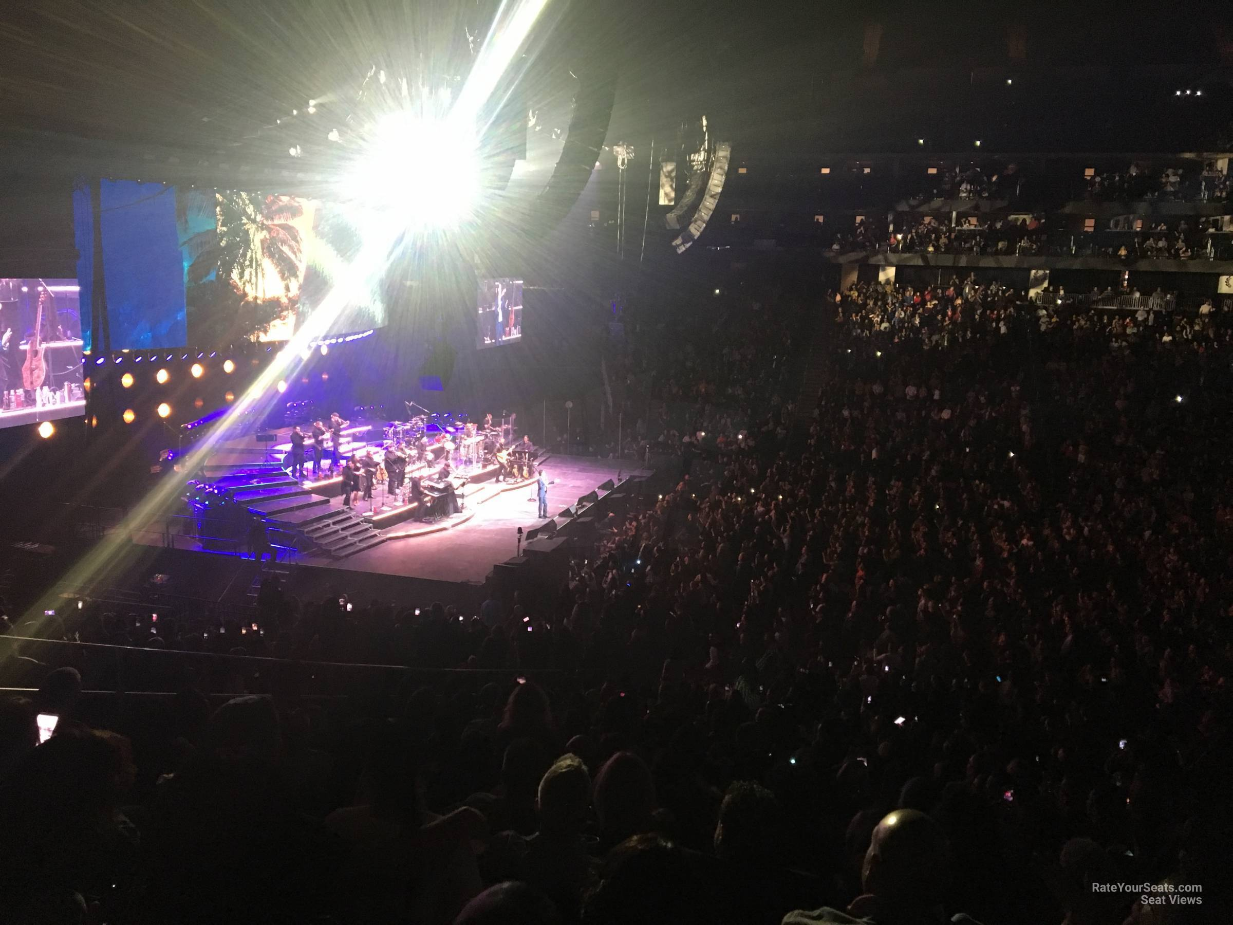 Prudential Center Section 18 Concert Seating ...