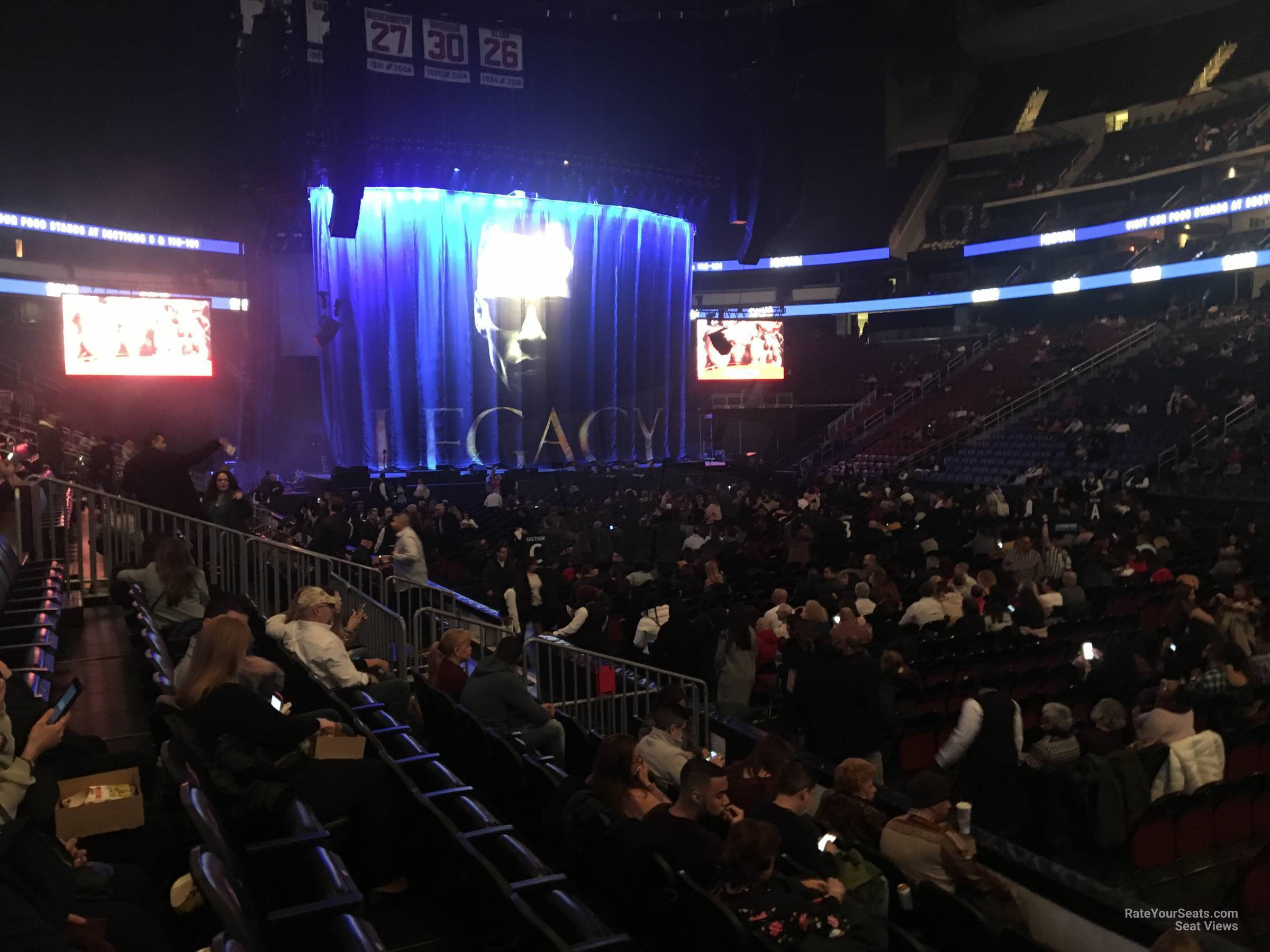 Prudential Center Section 20 Concert Seating