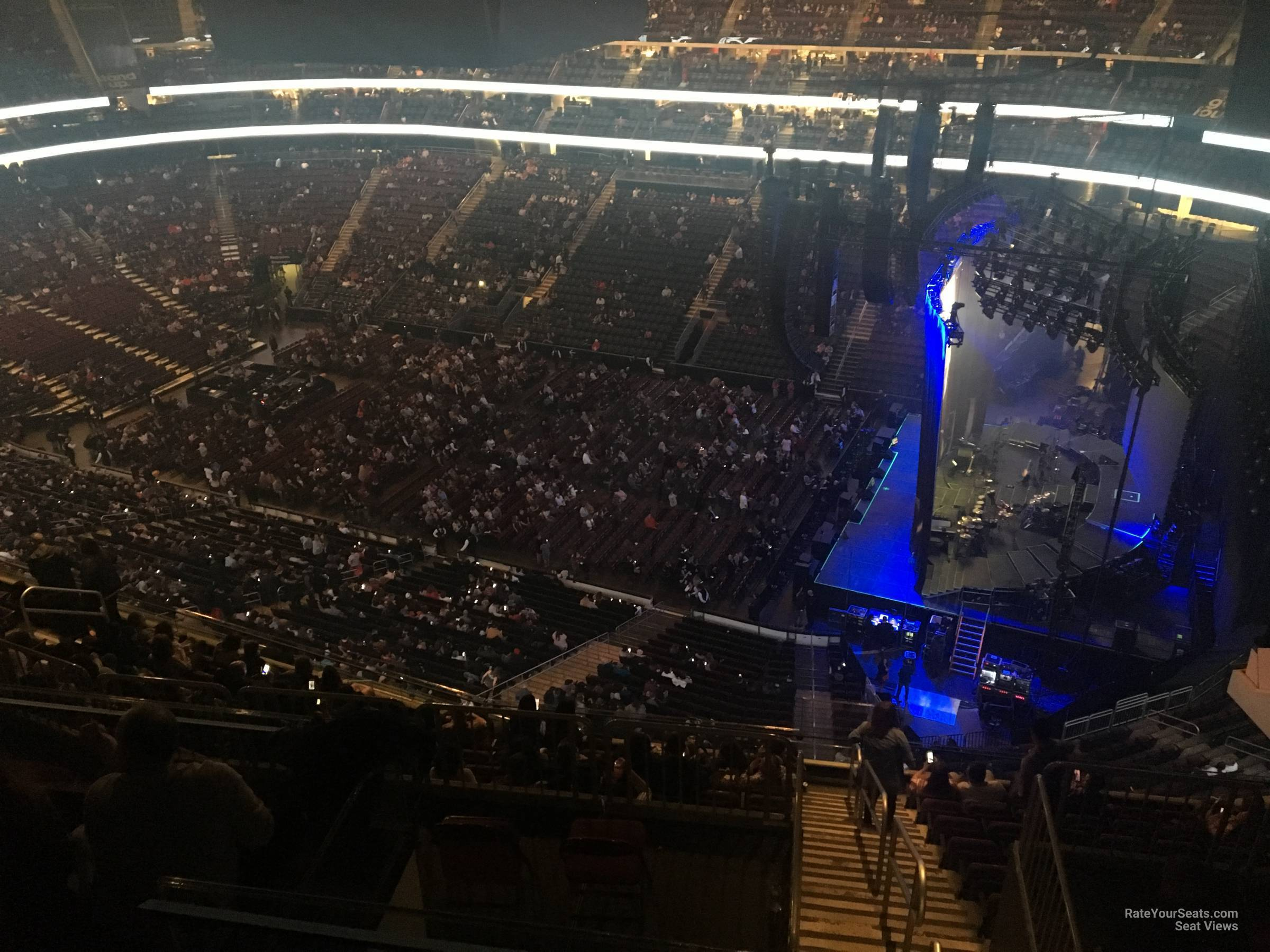 Concert Seat View For Prudential Center Section 215 Row 4