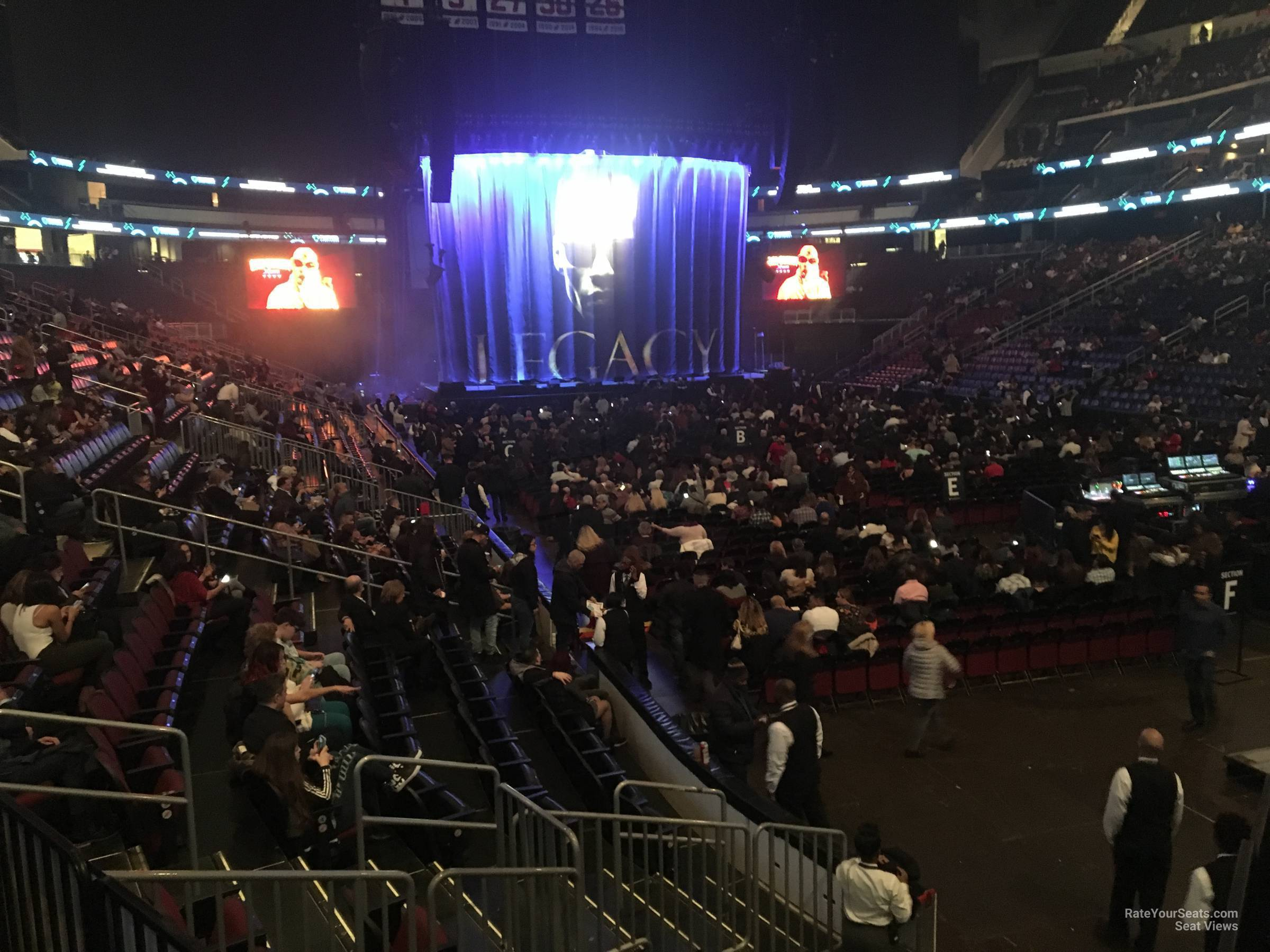 Prudential Center Section 22 Concert Seating ...