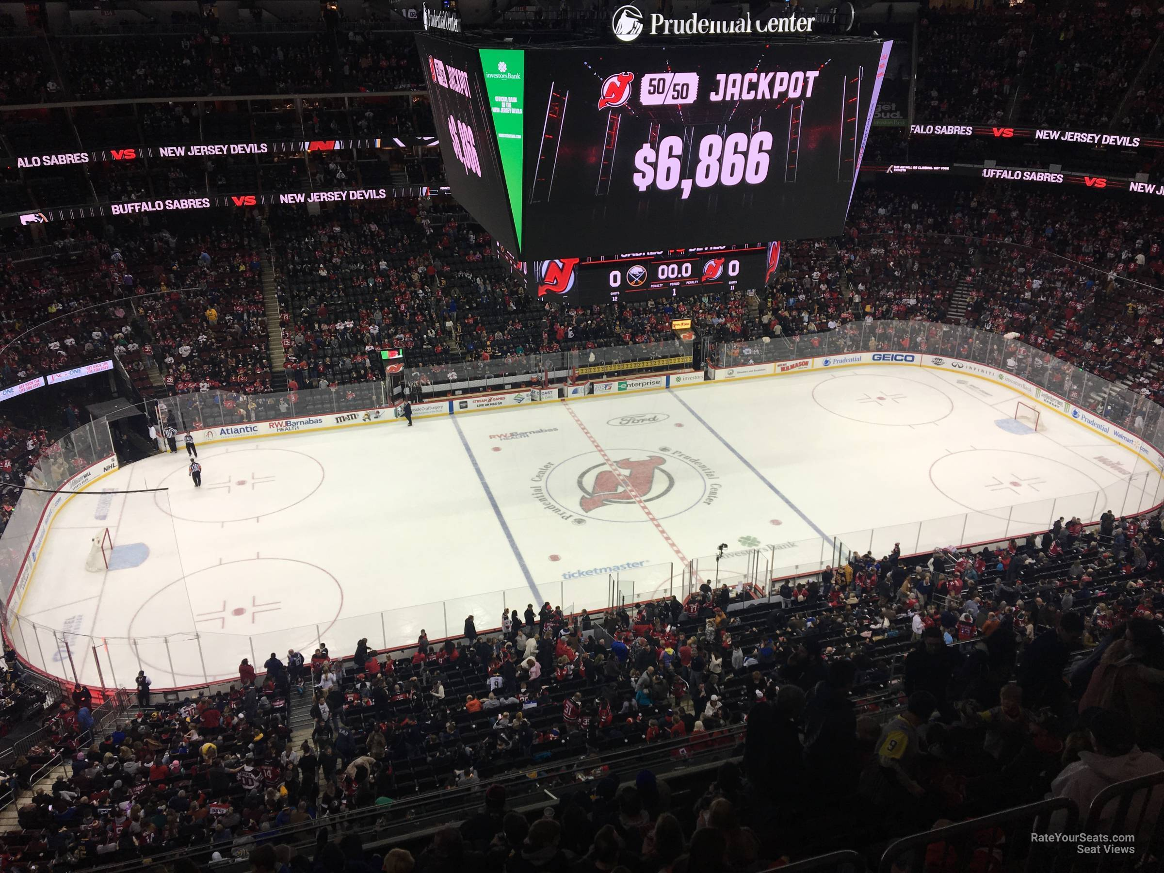 New Jersey Devils Seat View For Prudential Center Section 228