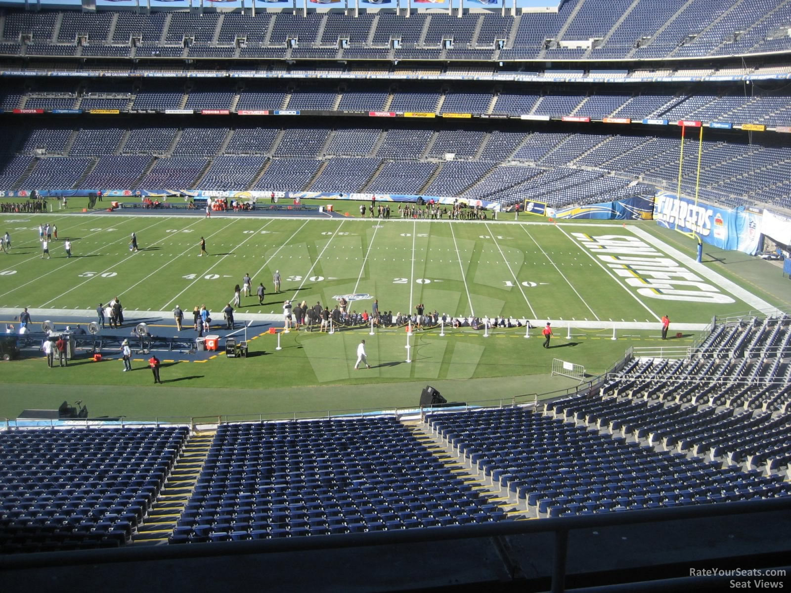 100 Qualcomm Stadium Map Stadium Concert Seating