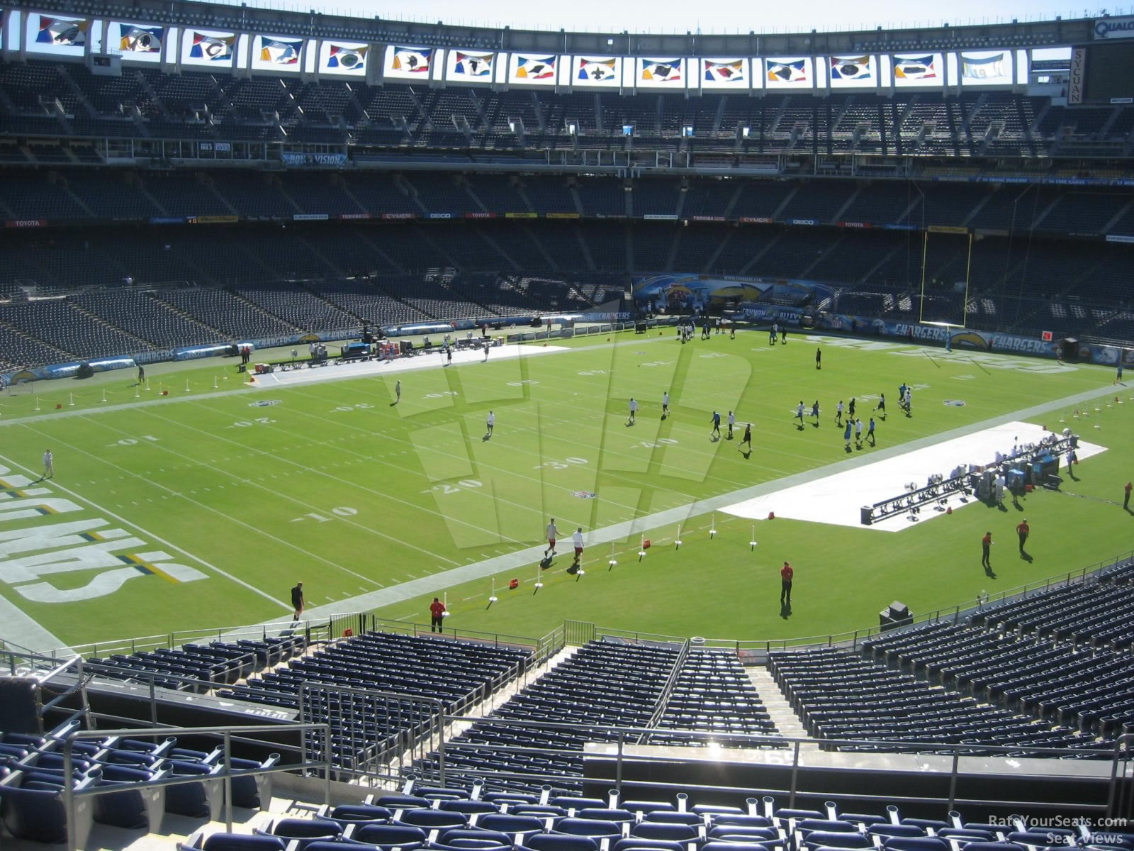 Qualcomm Stadium Club 59 Rateyourseats Com