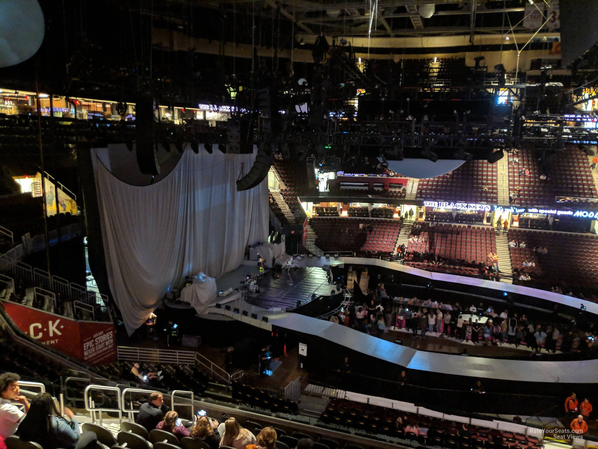 Section C109 seat view