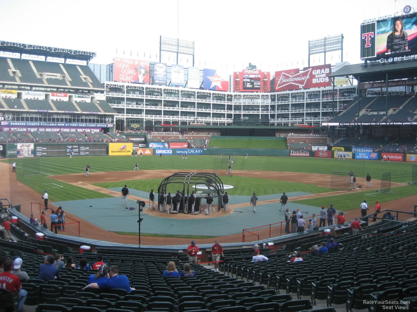 Seat View for Globe Life Park Section 27, Row 24