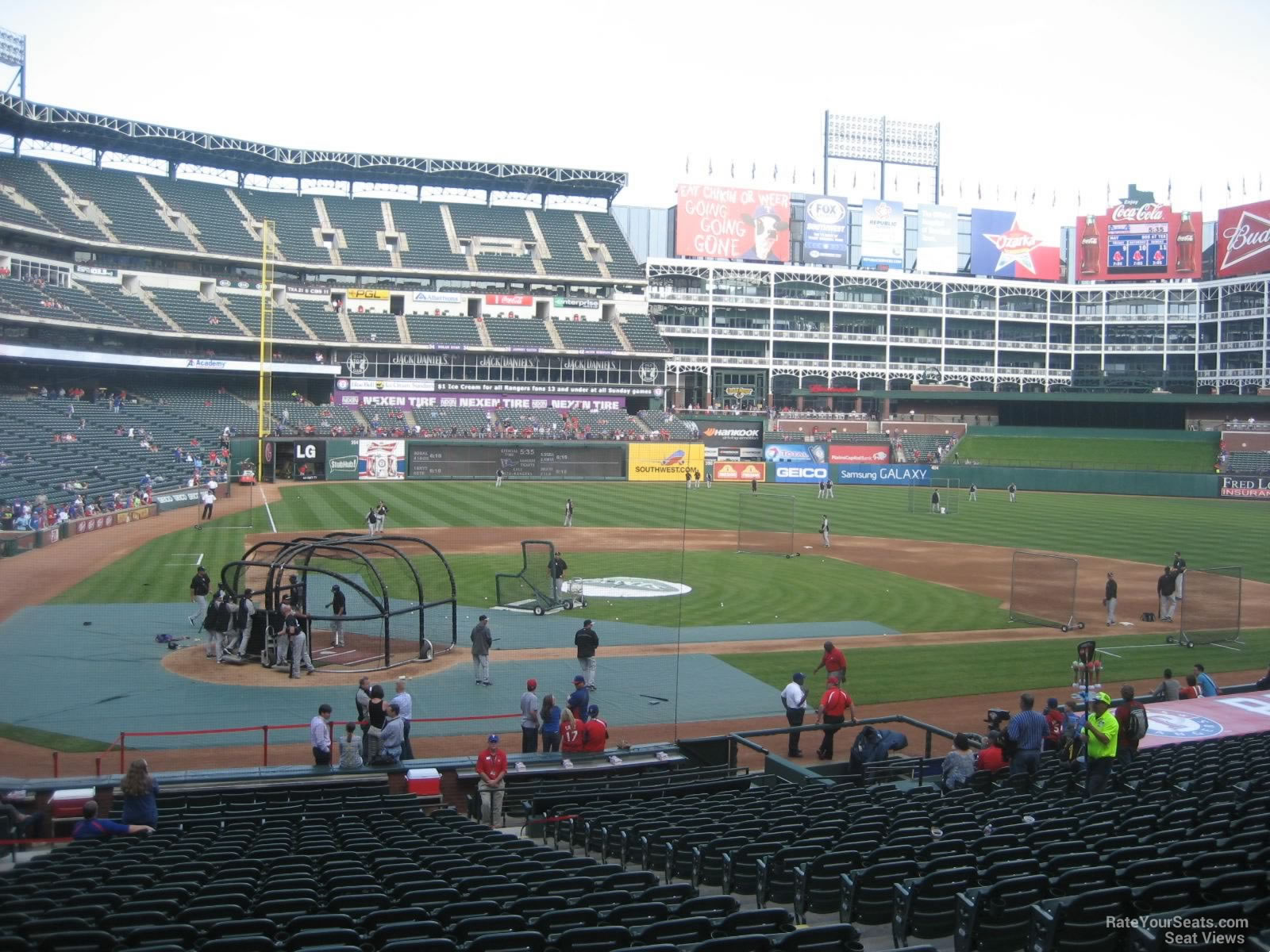 Seat View For Globe Life Park Section 30