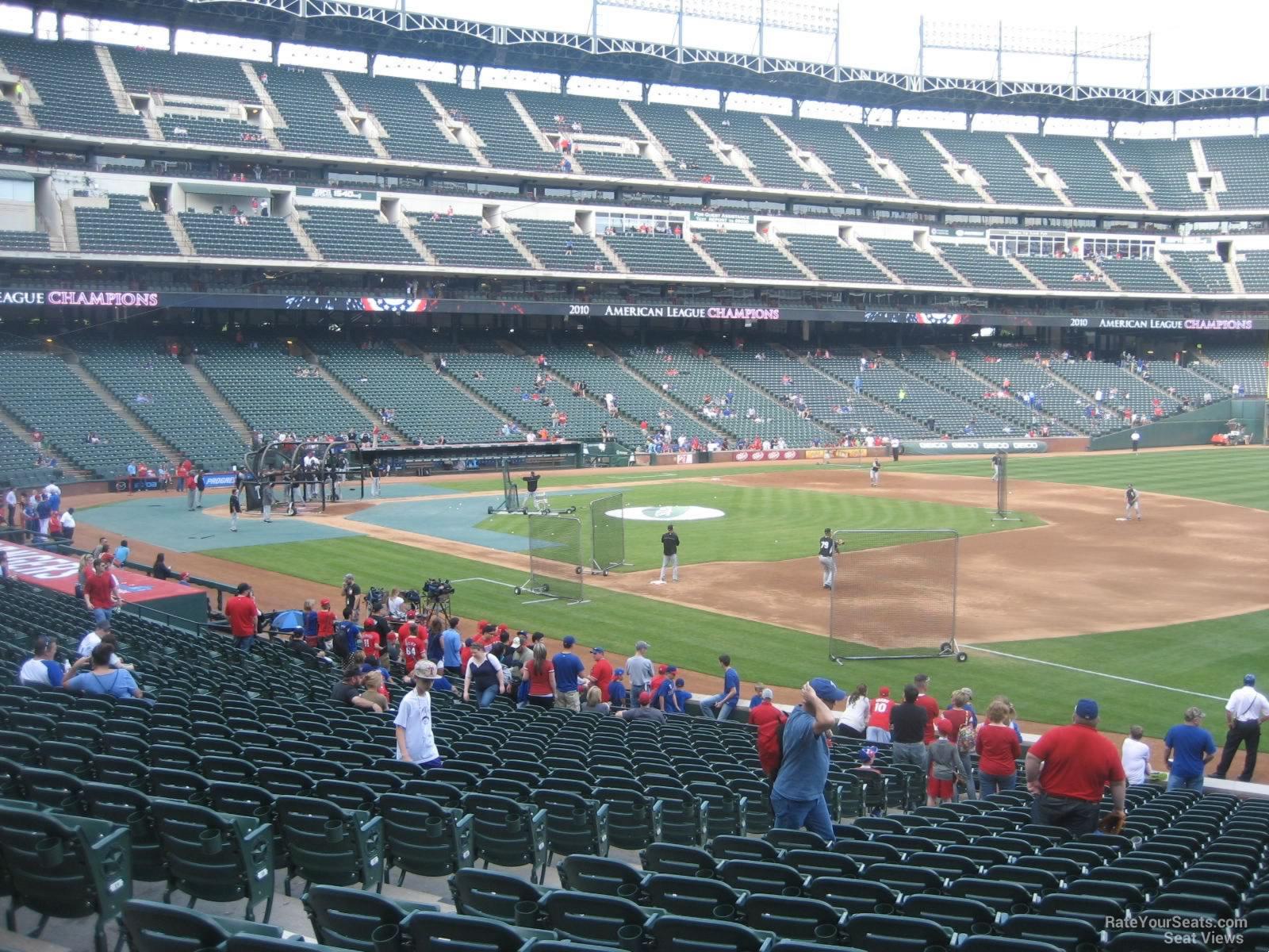 19 Inspirational Texas Rangers Ballpark Seating Chart