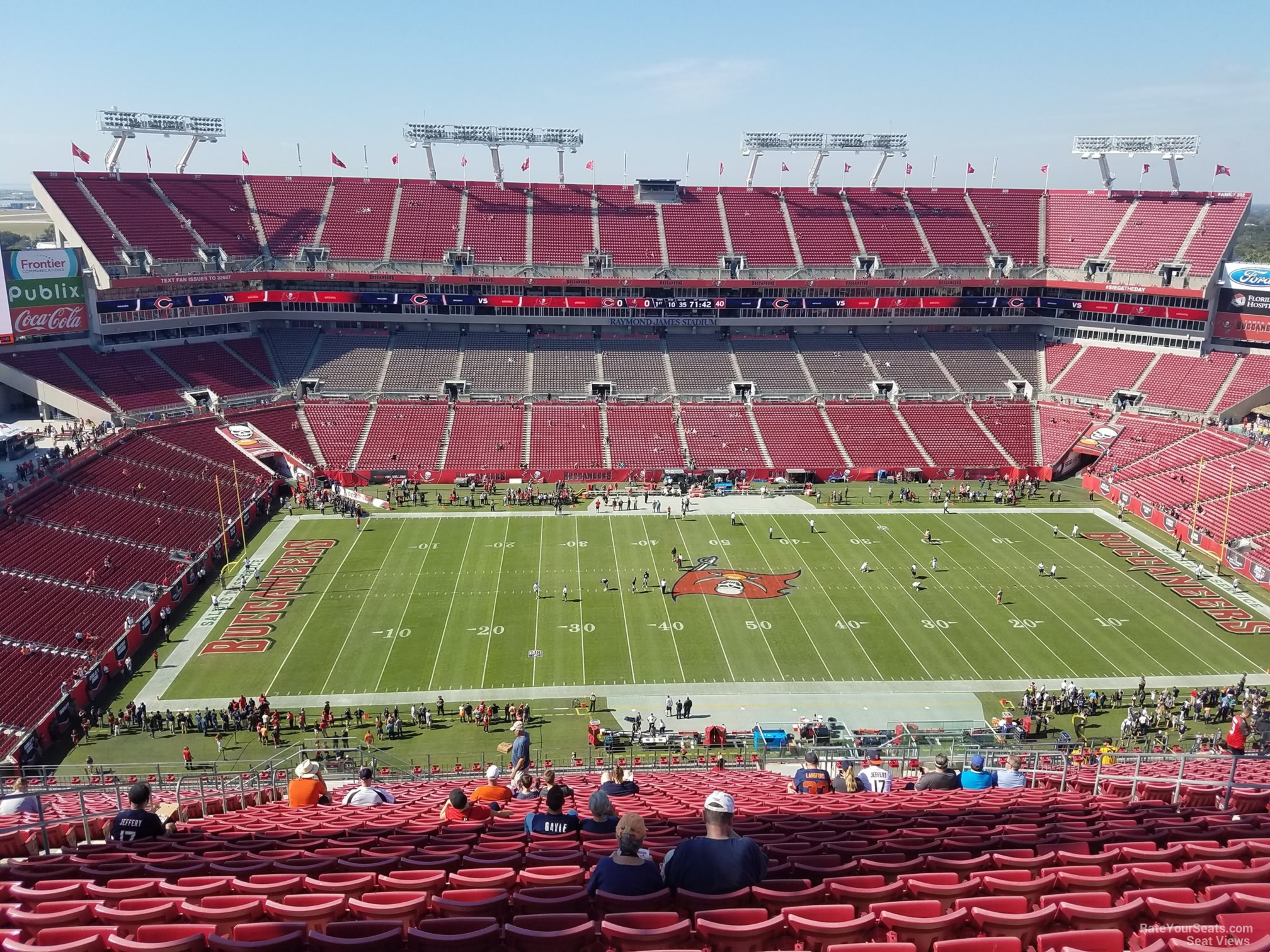Seat View for Raymond James Stadium Section 334, ...