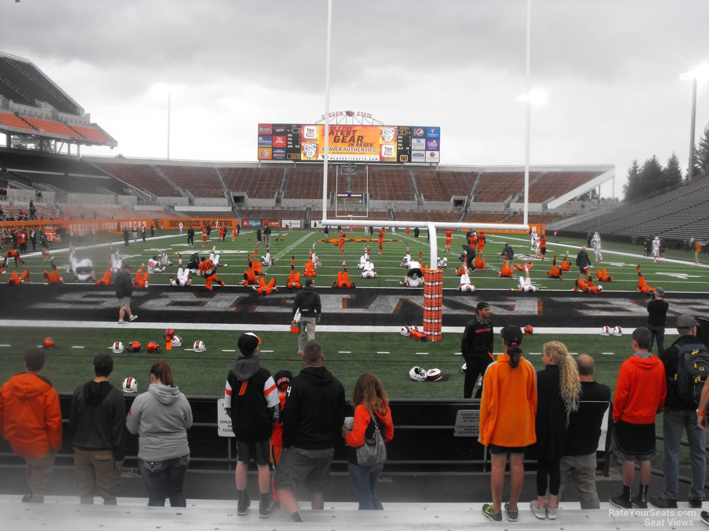 Seat View for Reser Stadium Section 21, Row 10