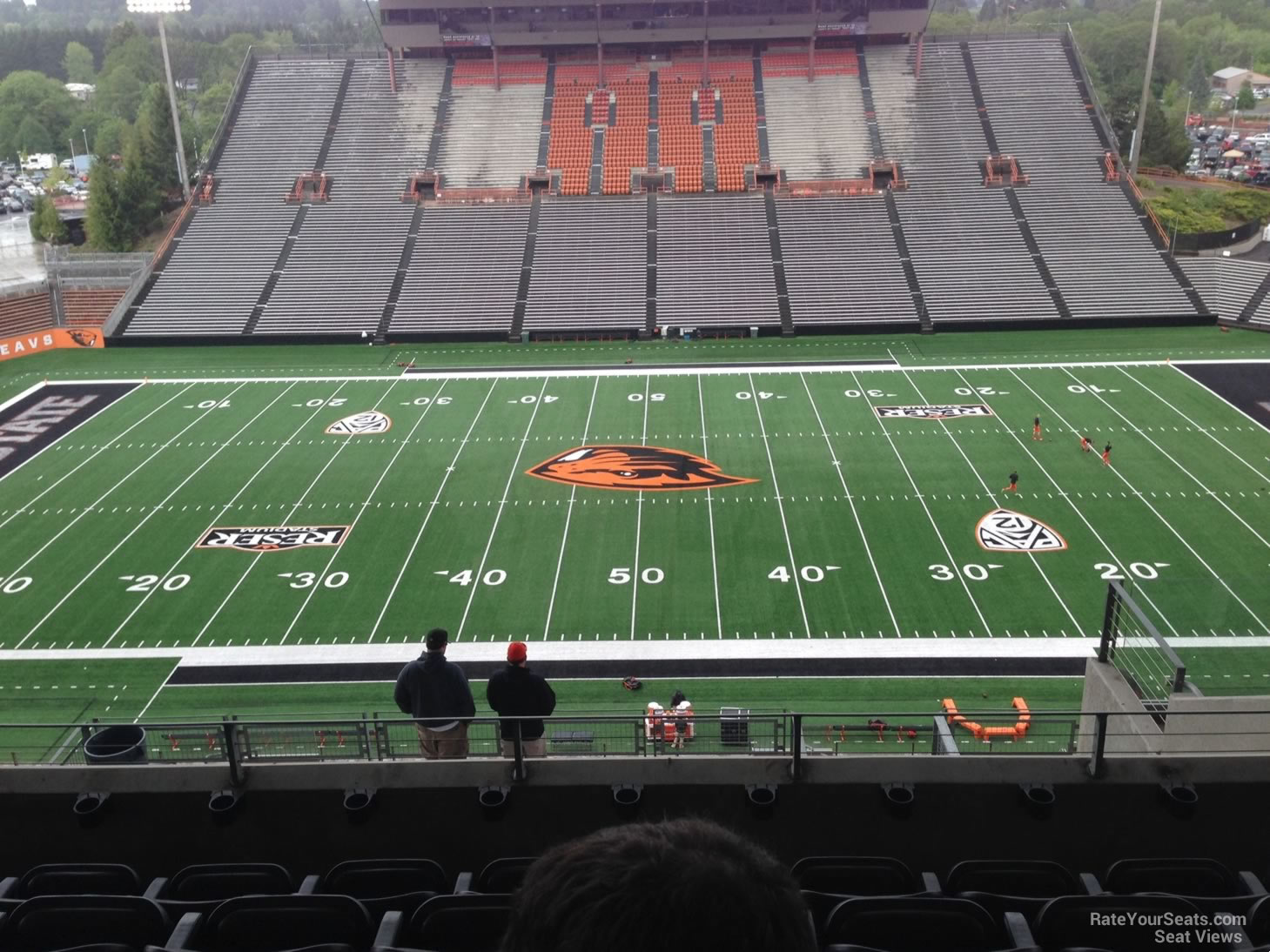 Seat View for Reser Stadium Section 220, Row 19, Seat 5