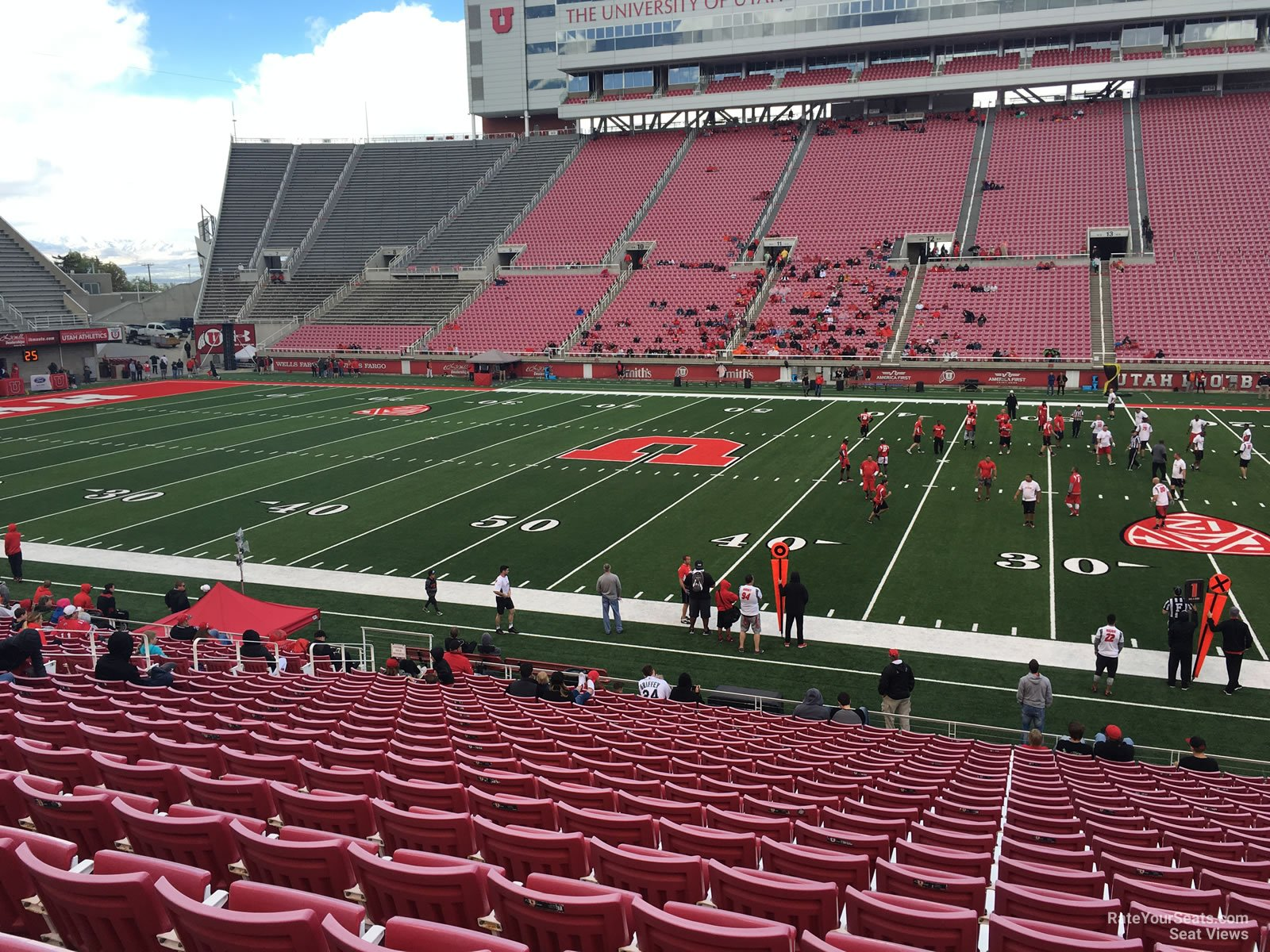 Rice eccles stadium section e35 rateyourseats com