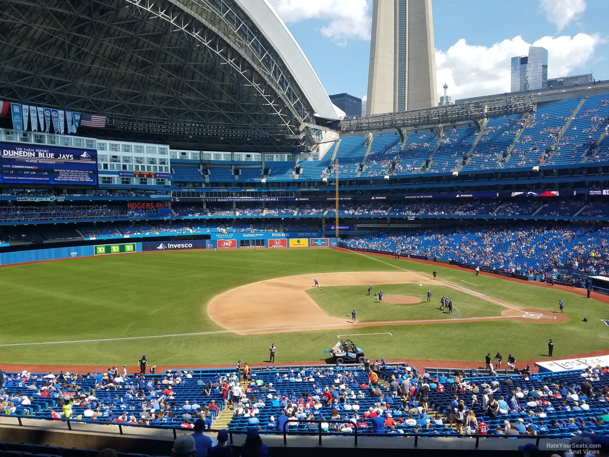 Seat View For Rogers Centre Section
