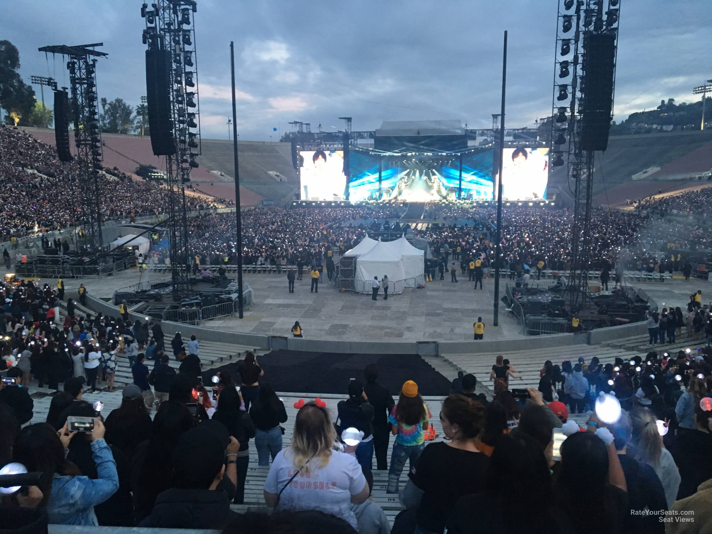 Rose Bowl Stadium Concert Seating Guide Rateyourseatscom