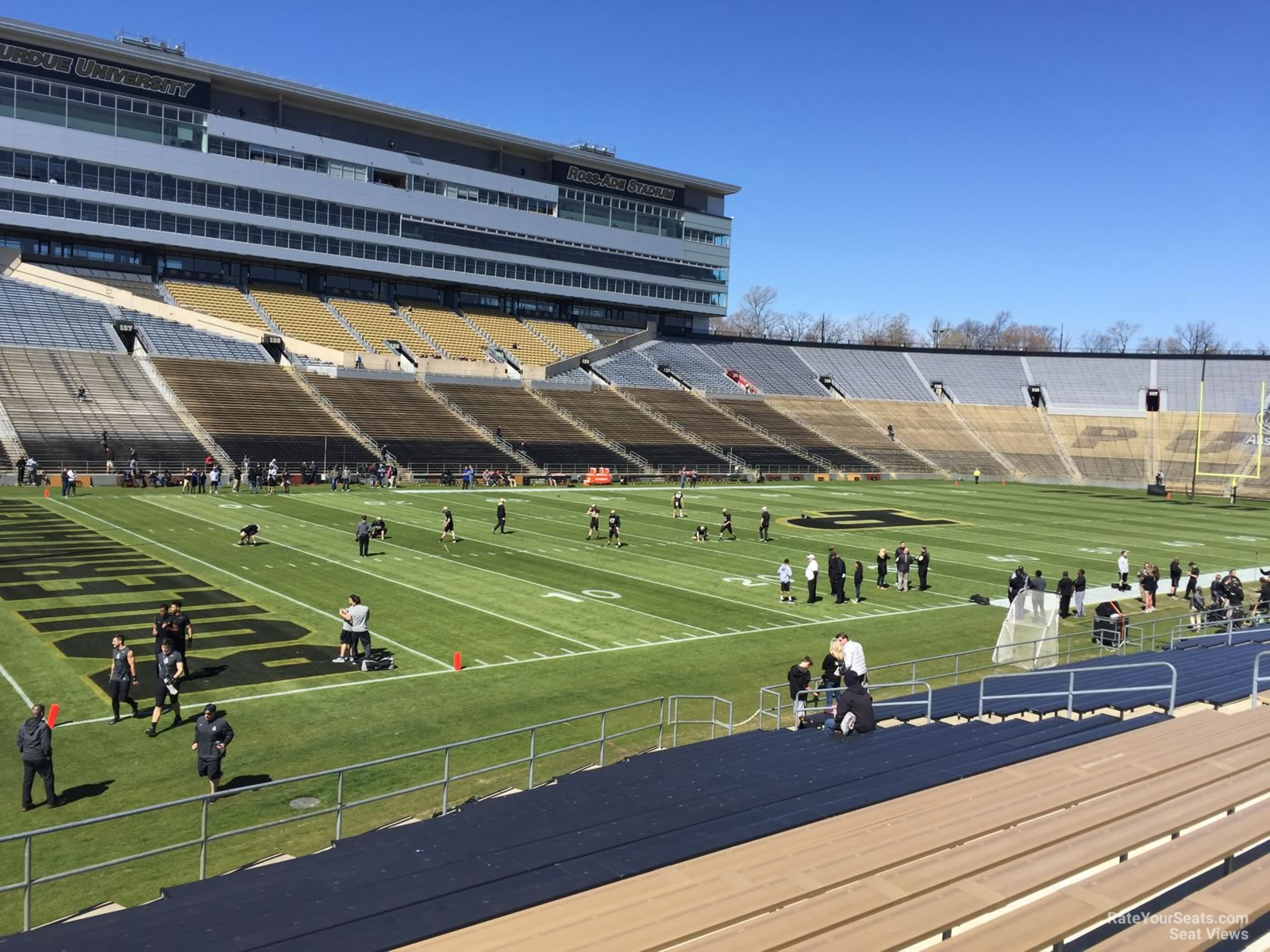 Seat View for Ross-Ade Stadium Section 101, Row 24