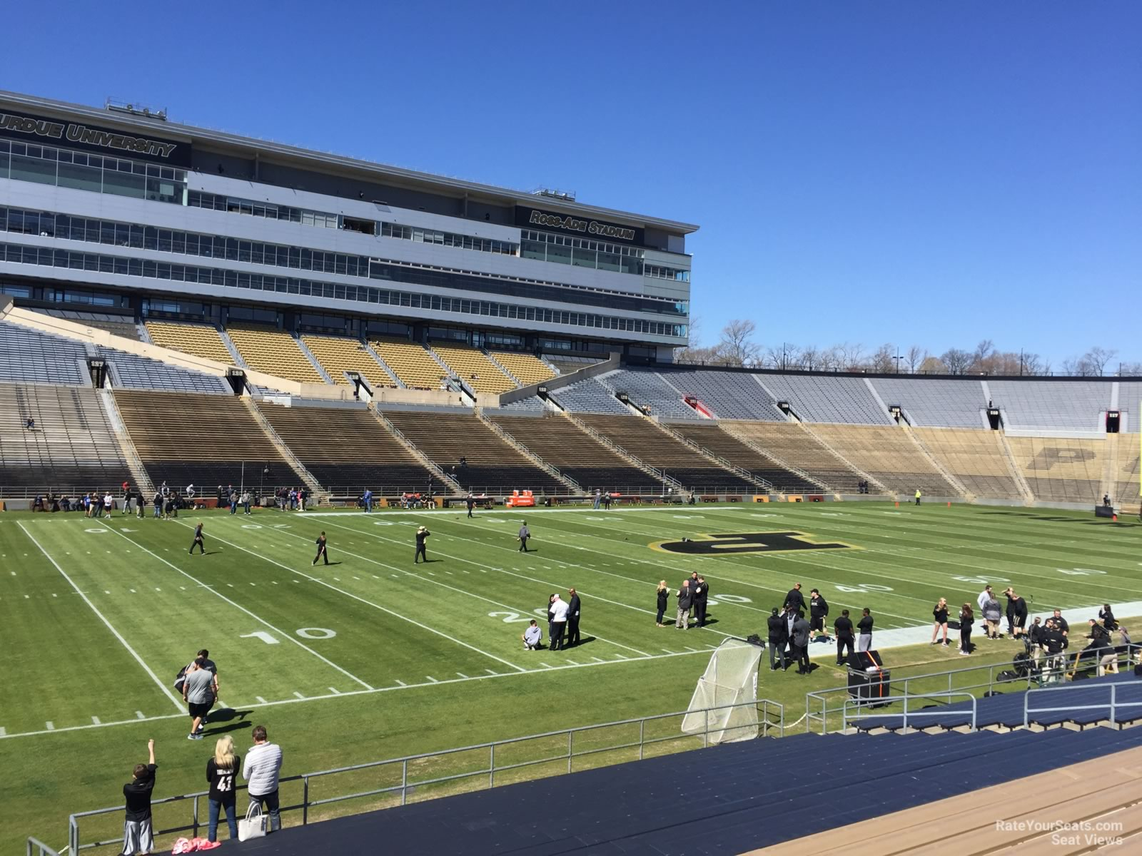 Seat View for Ross-Ade Stadium Section 102, Row 24