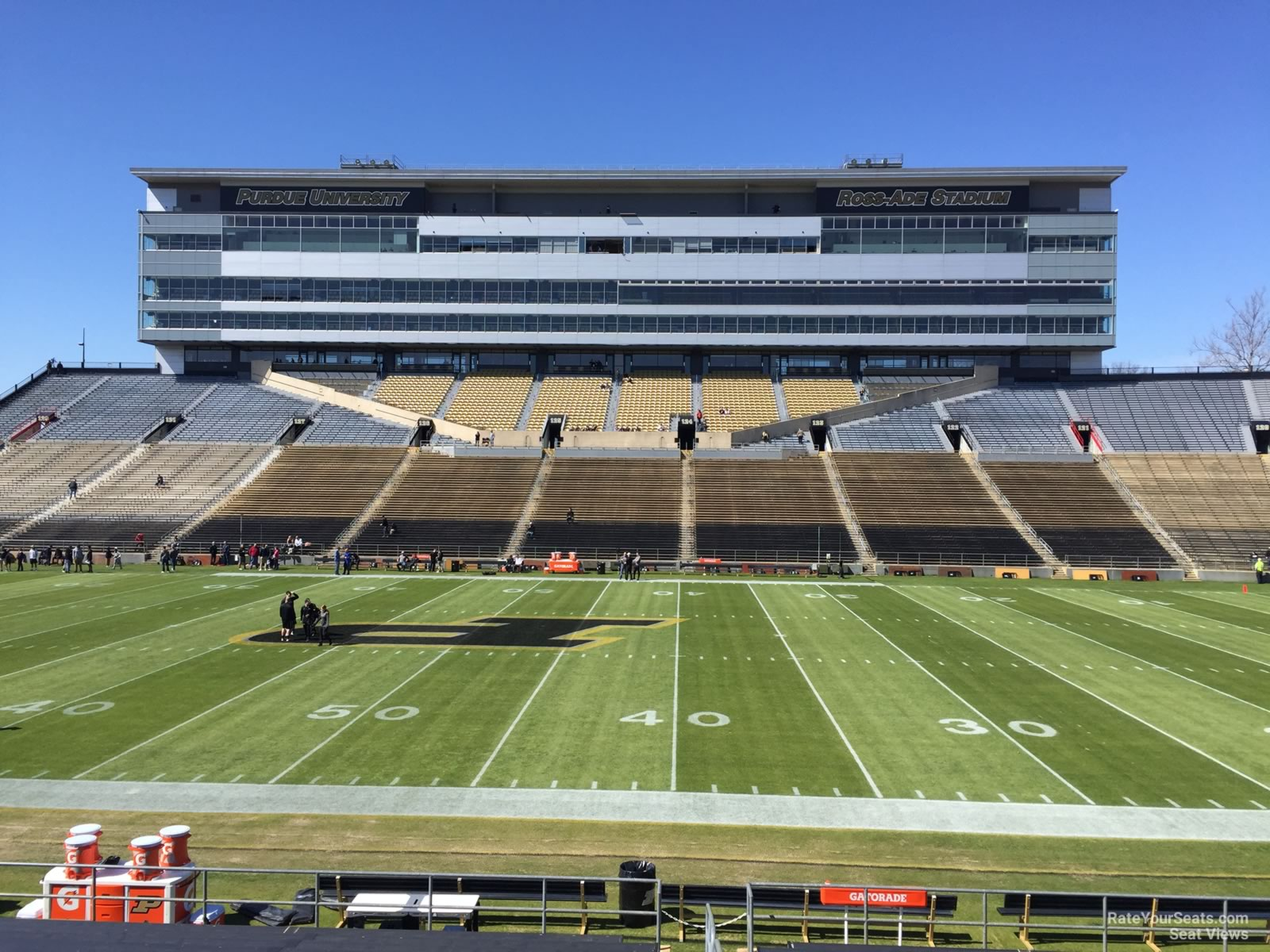 Seat View for Ross-Ade Stadium Section 106, Row 24