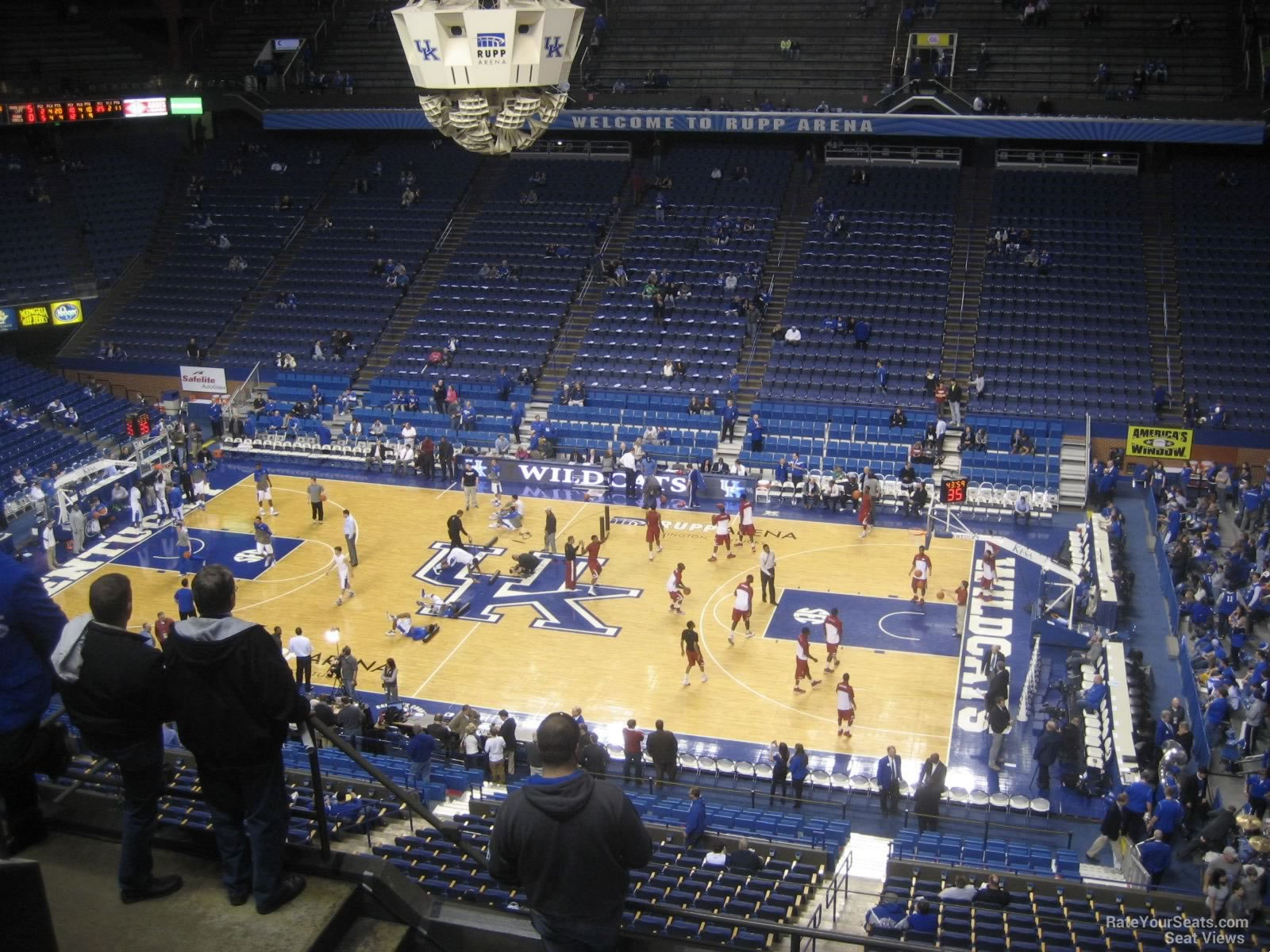 Rupp Arena Seating Chart Basketball Section 212 Rateyourseats Com